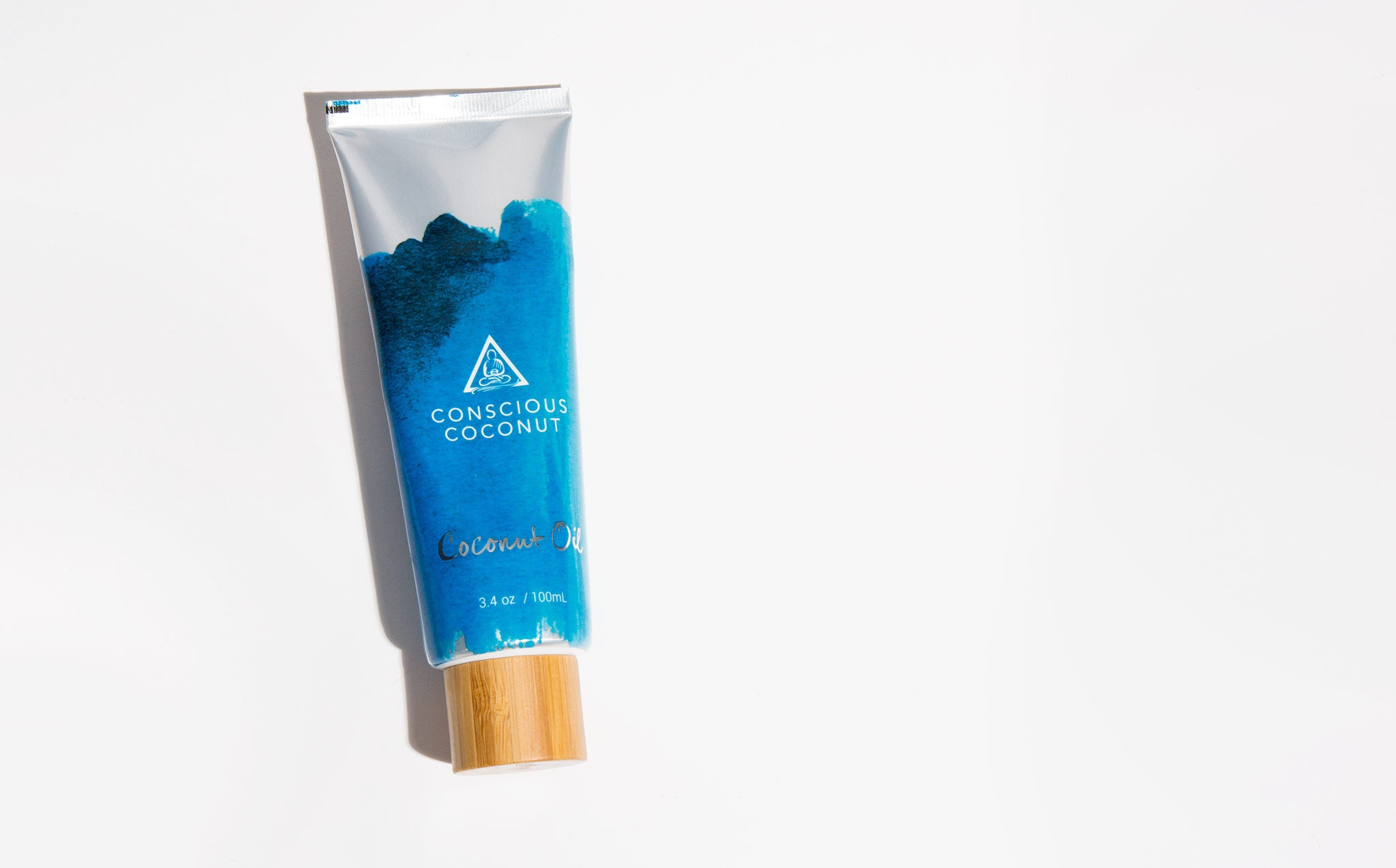 Conscious Coconut Organic Coconut Oil Tube kindred black