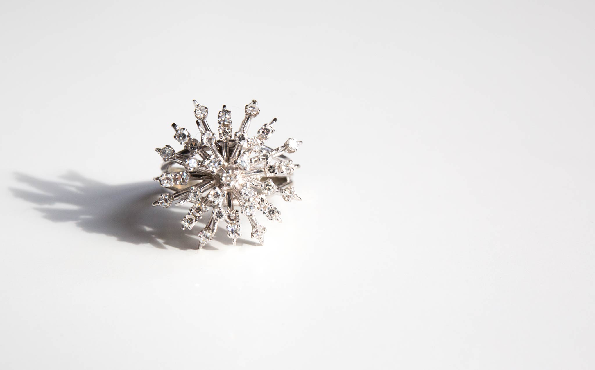Diamond Explosion Ring