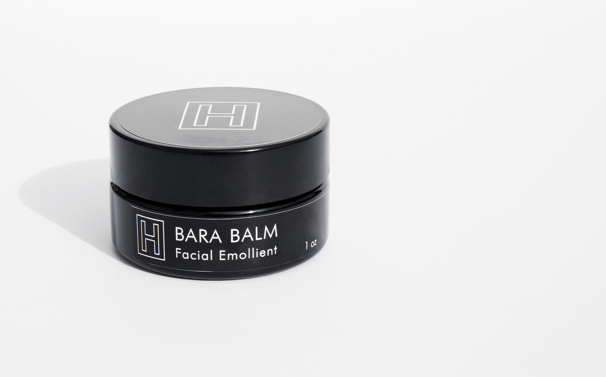 H is for Love Bara Balm Facial Emollient kindred black