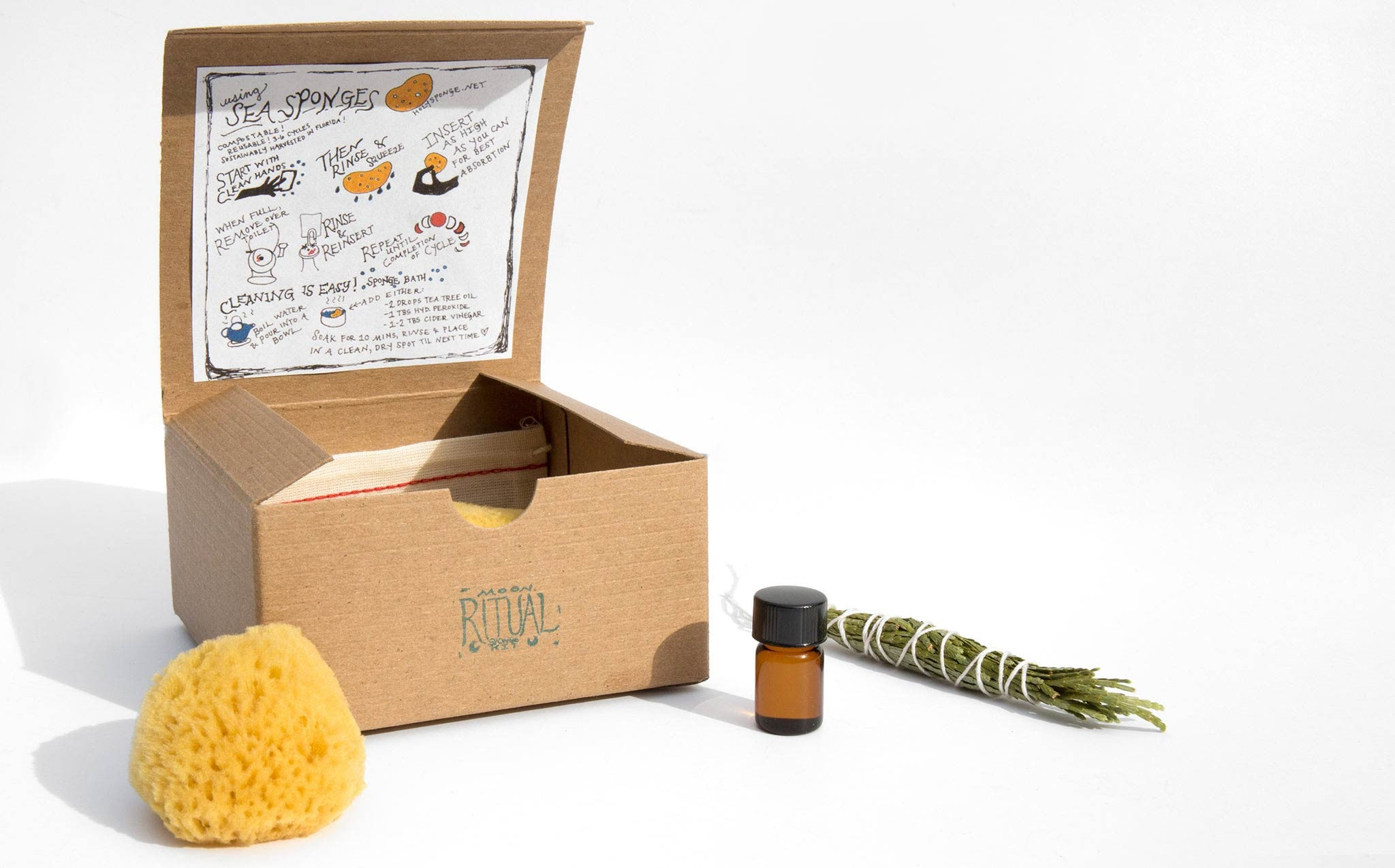 Holy Sponge Ritual Moon Kit