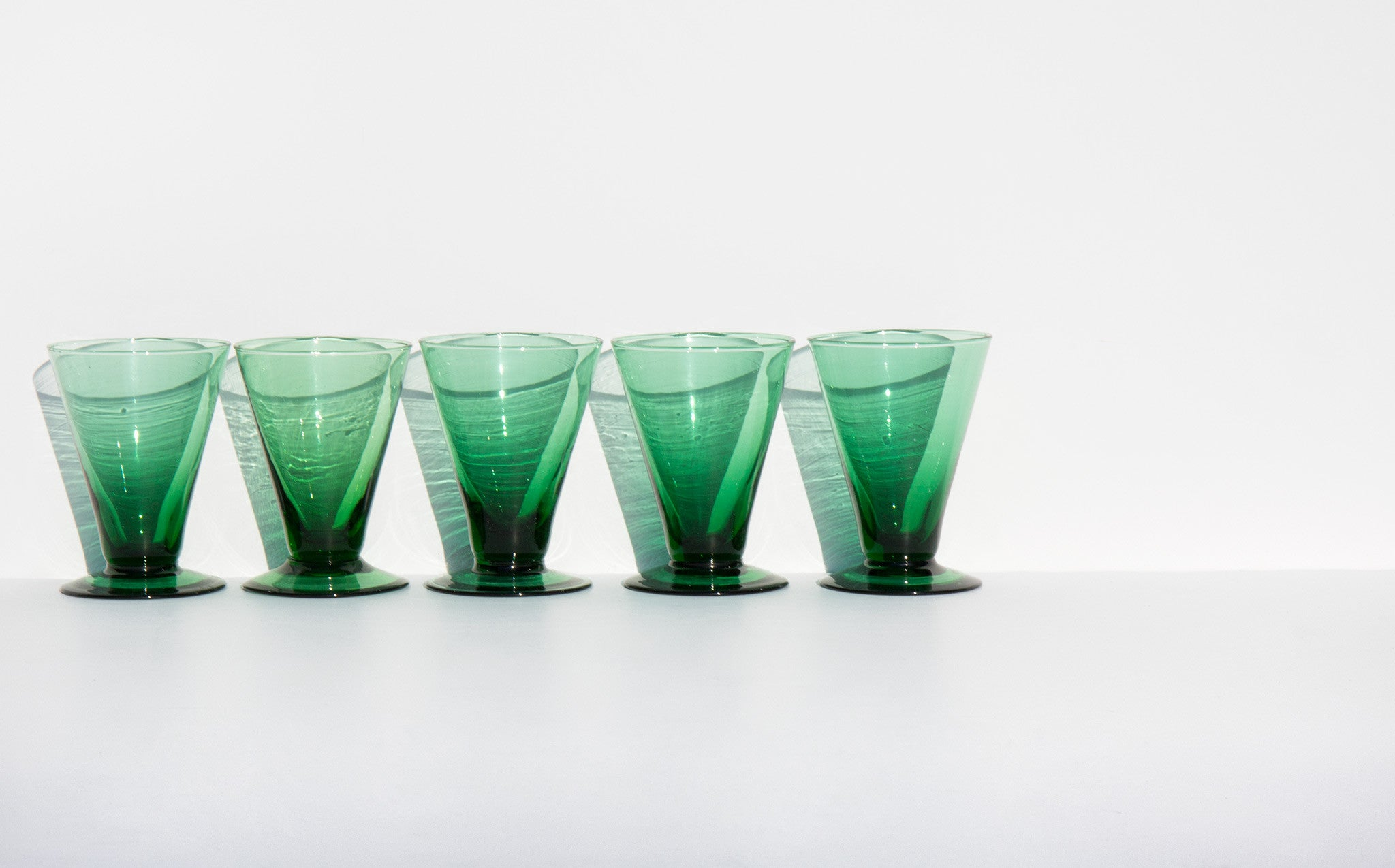 Pine Cocktail Glasses