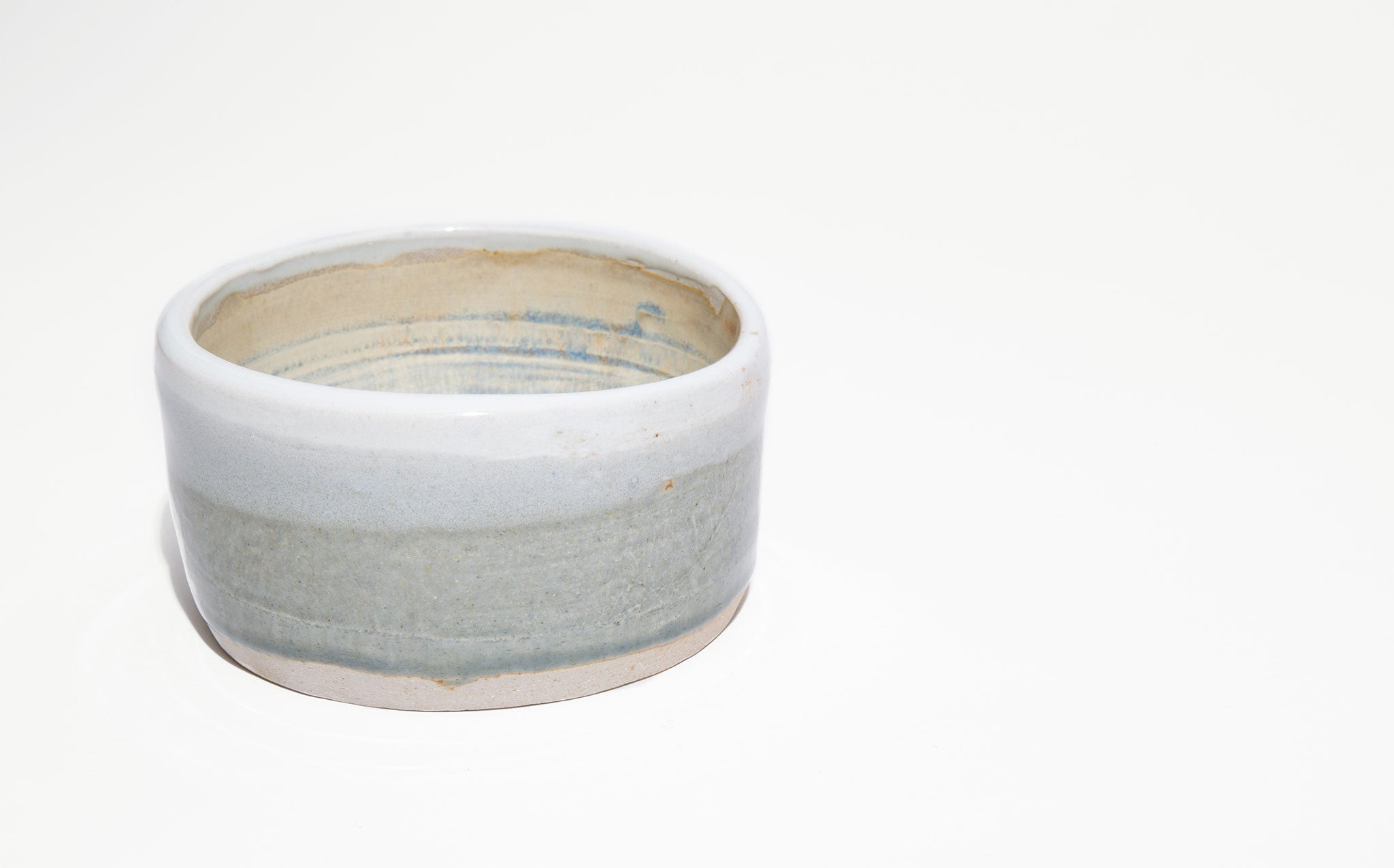 Pastel Glazed Pottery Bowl