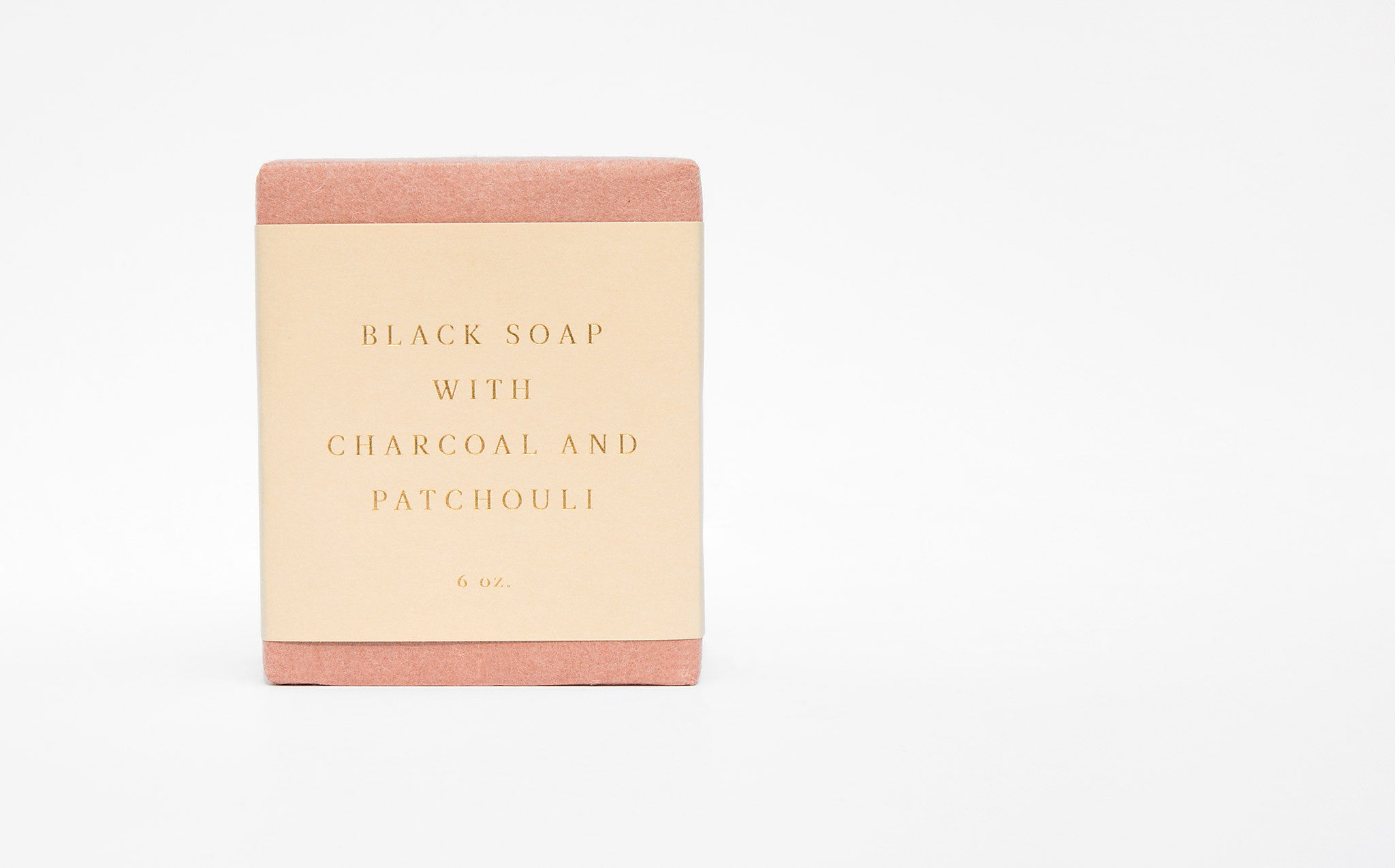 Saipua Black Soap With Charcoal and Patchouli kindred black