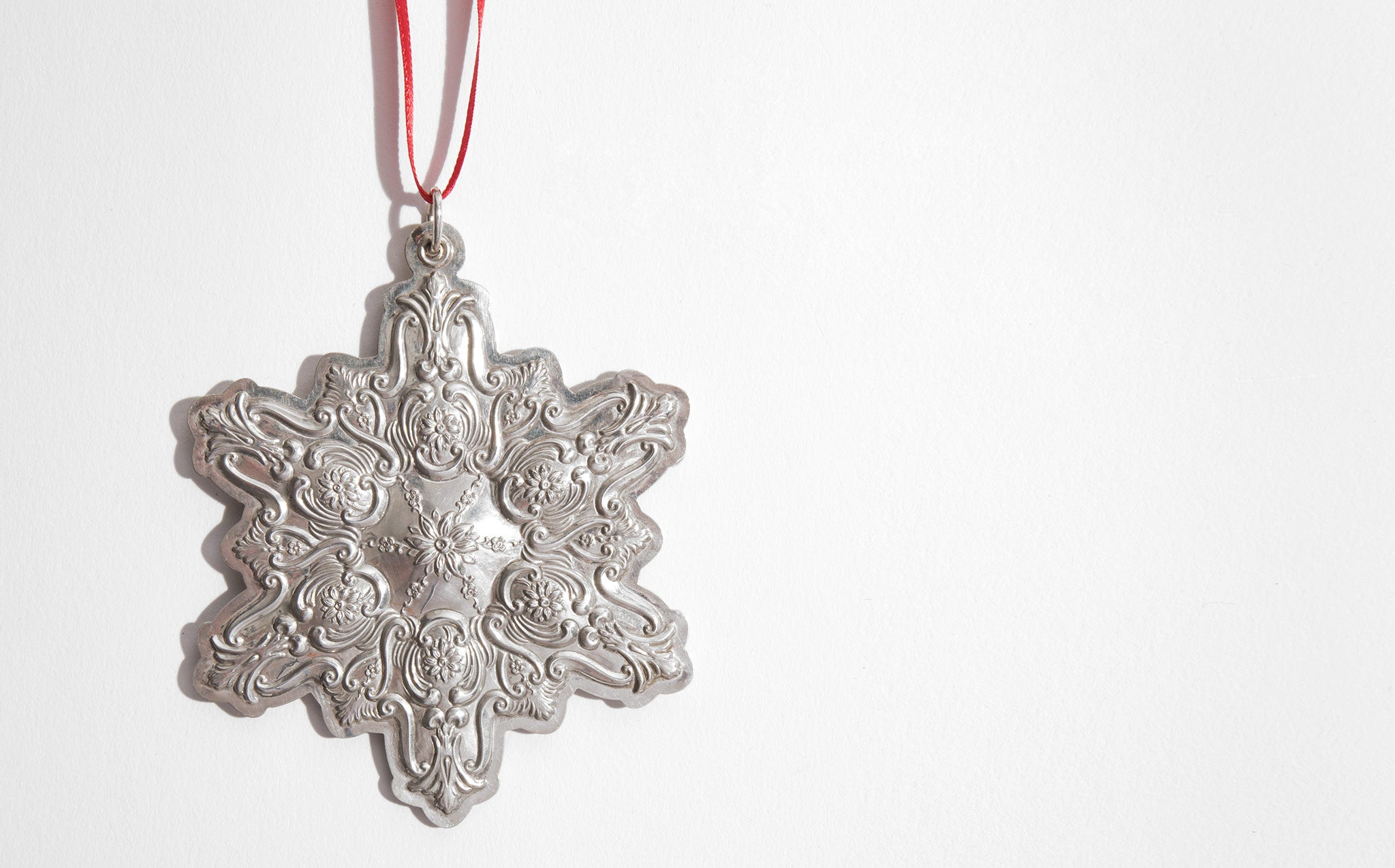 Towle Sterling Silver Snowflake