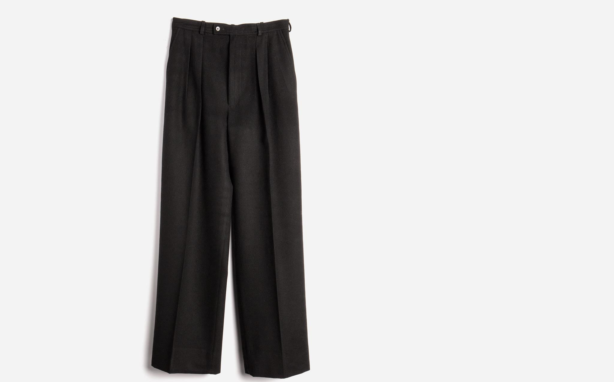 Yves Saint Laurent Rive Gauche Wool Trousers
