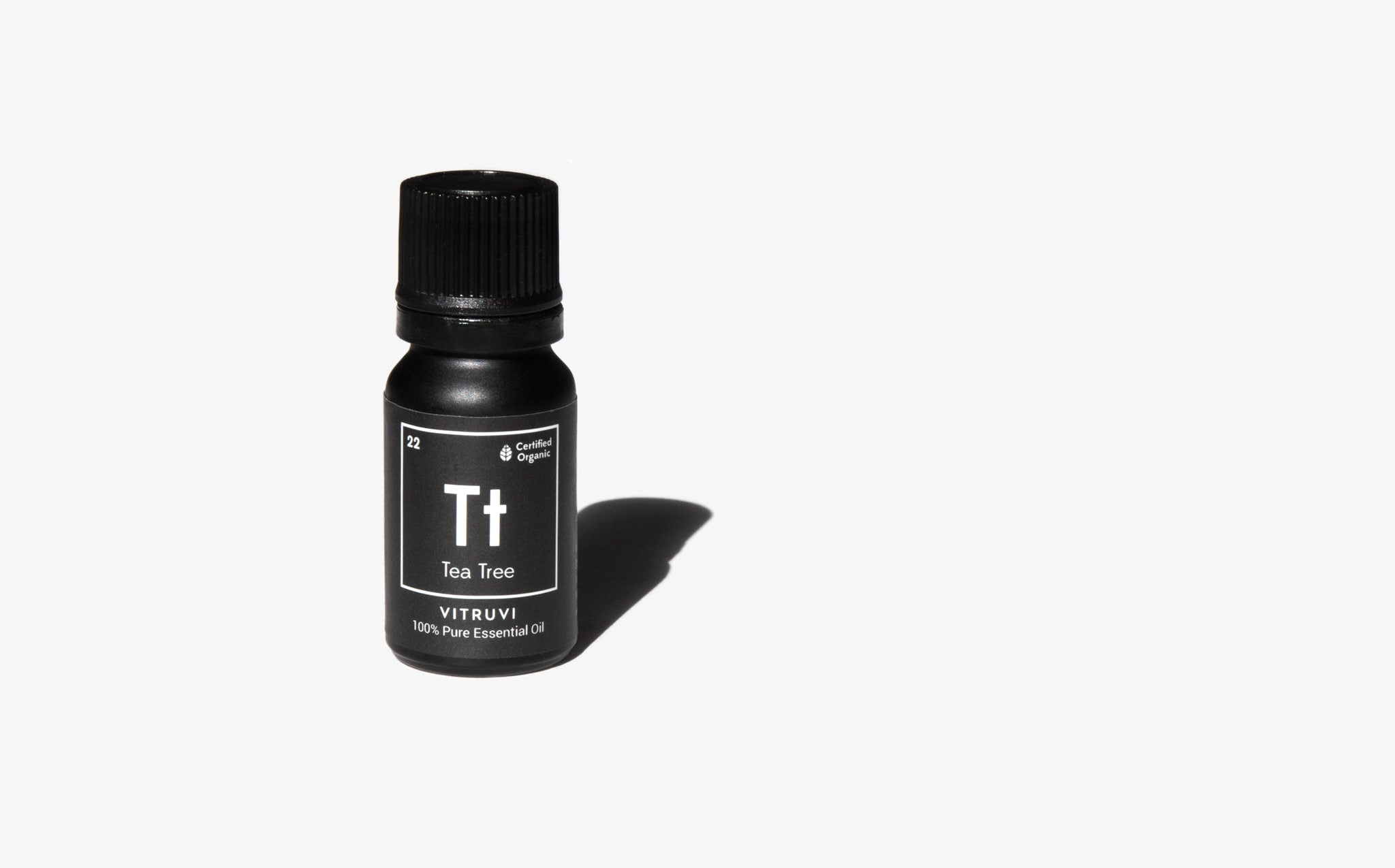 Vitruvi Organic Tea Tree Essential Oil
