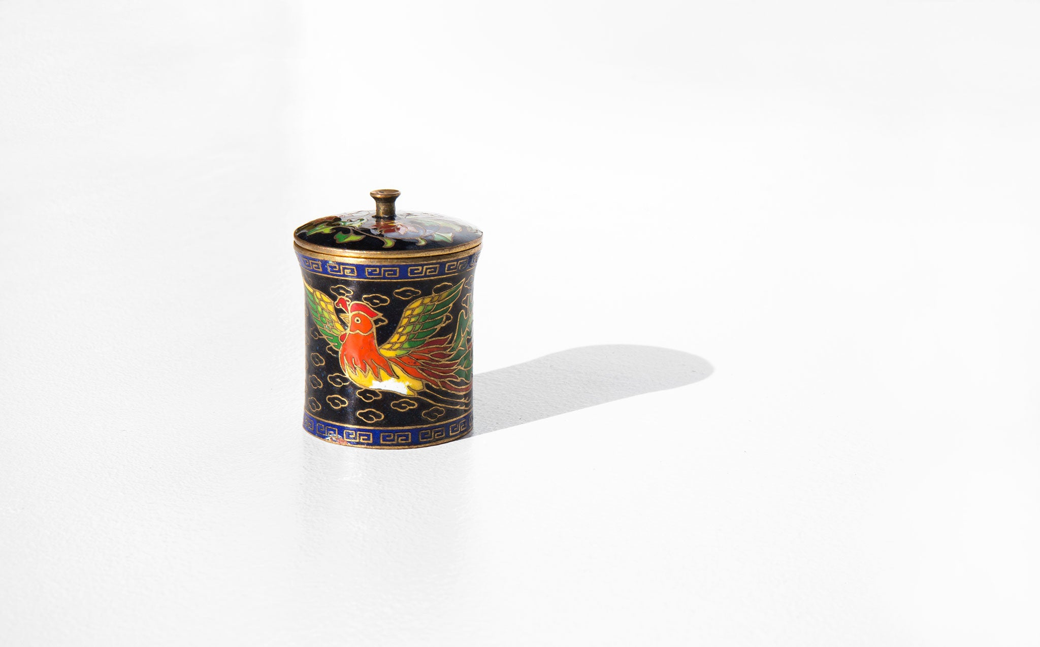 Luck and Fortune Cloisonné Box