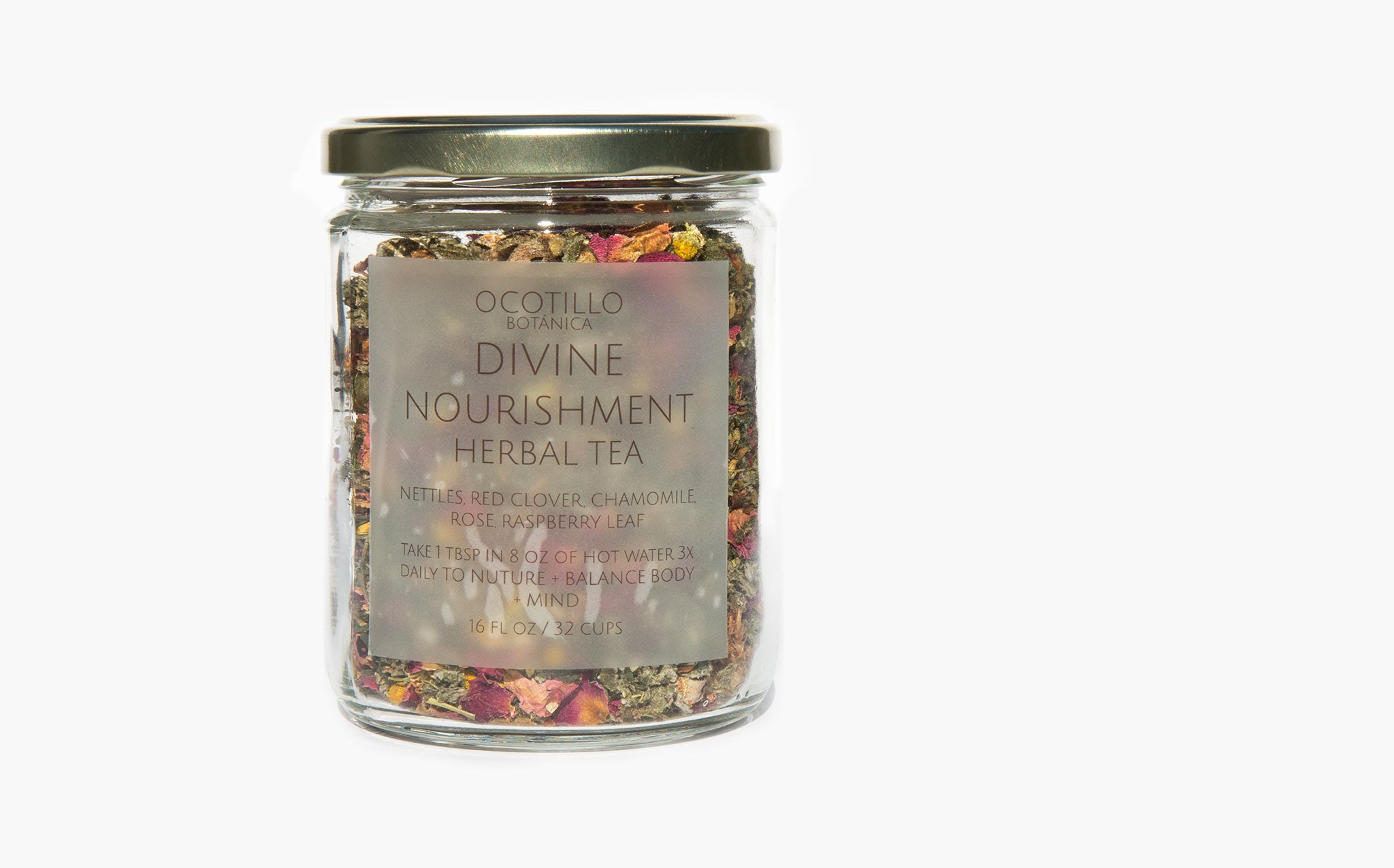 Ocotillo Botanica Divine Nourishment Herbal Tea