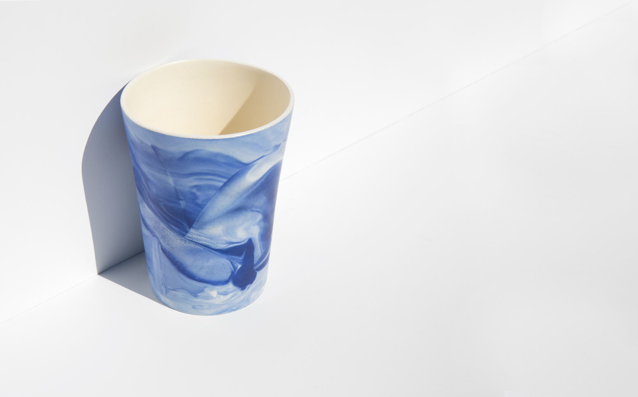 Workaday Handmade Marbled Cup kindred black