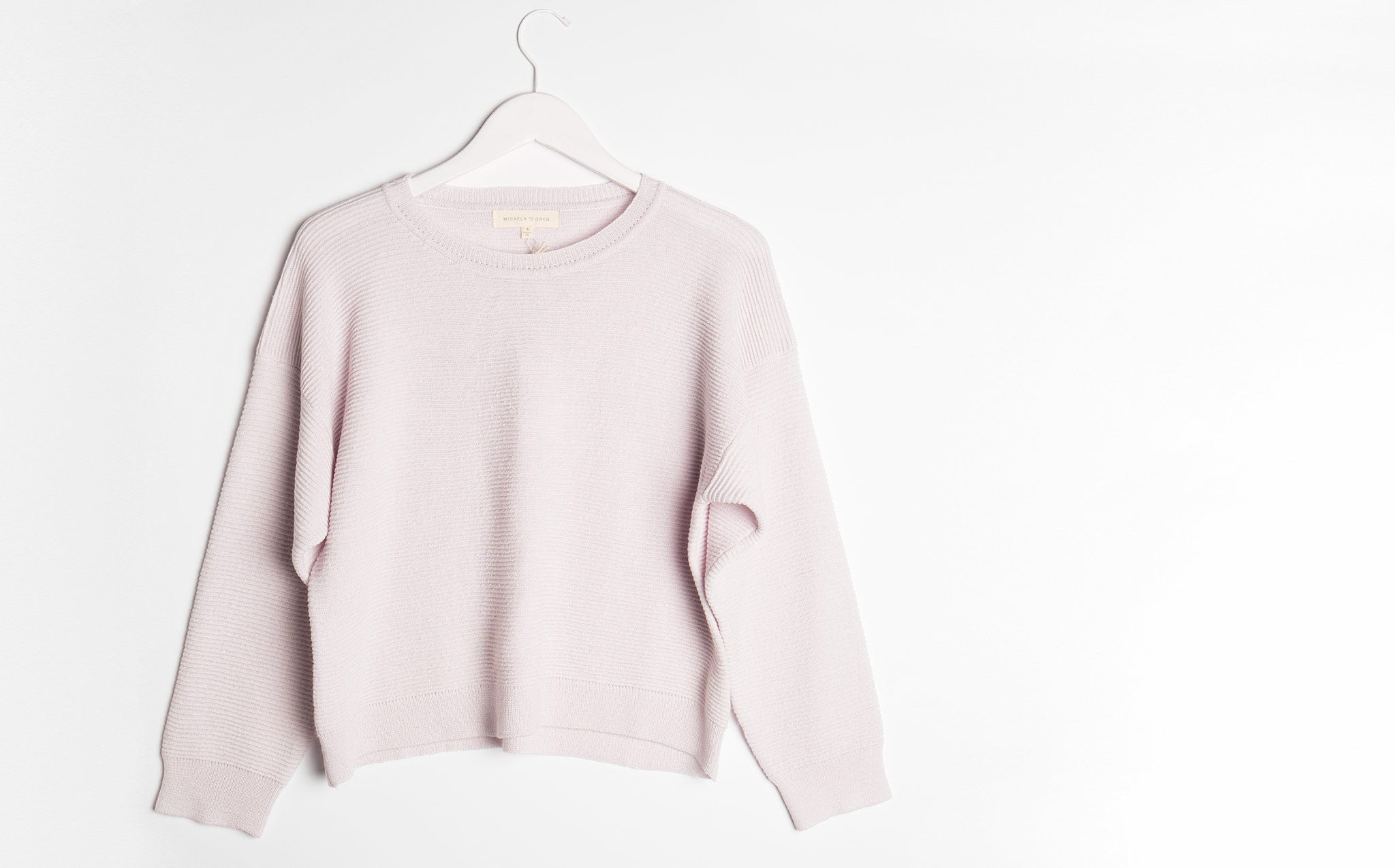 Micaela Greg Pearl Ripple Sweater