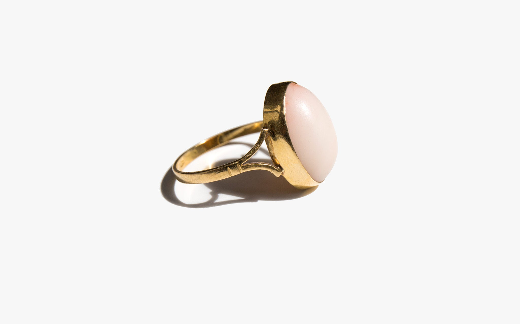 Angel Skin Coral Ring