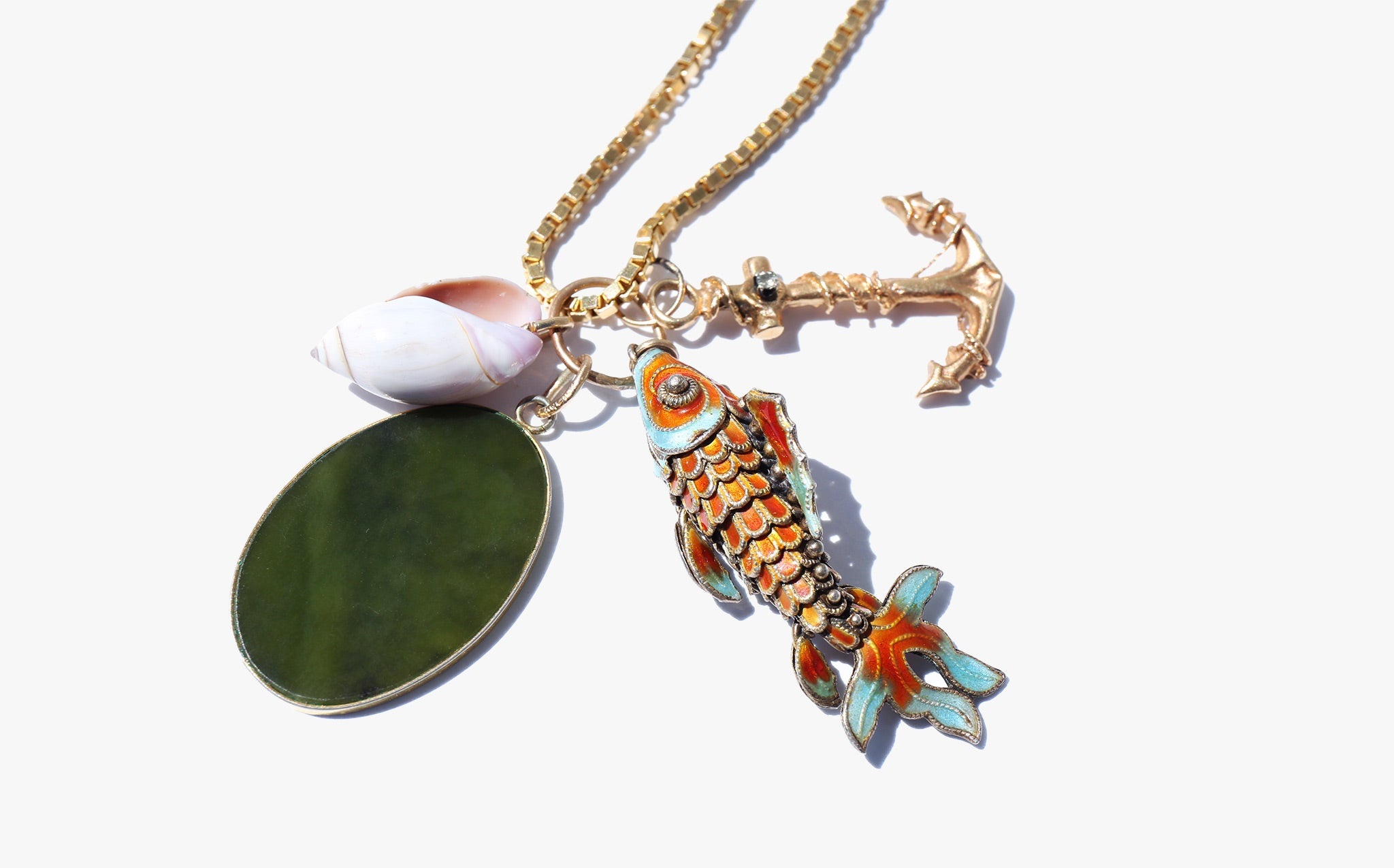 The Charms of the Sea Necklace