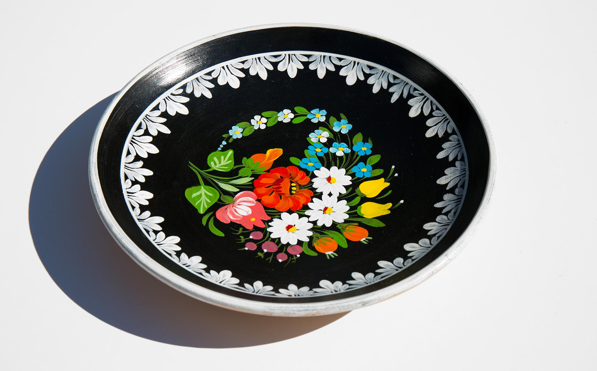 Mexican Painted Plate