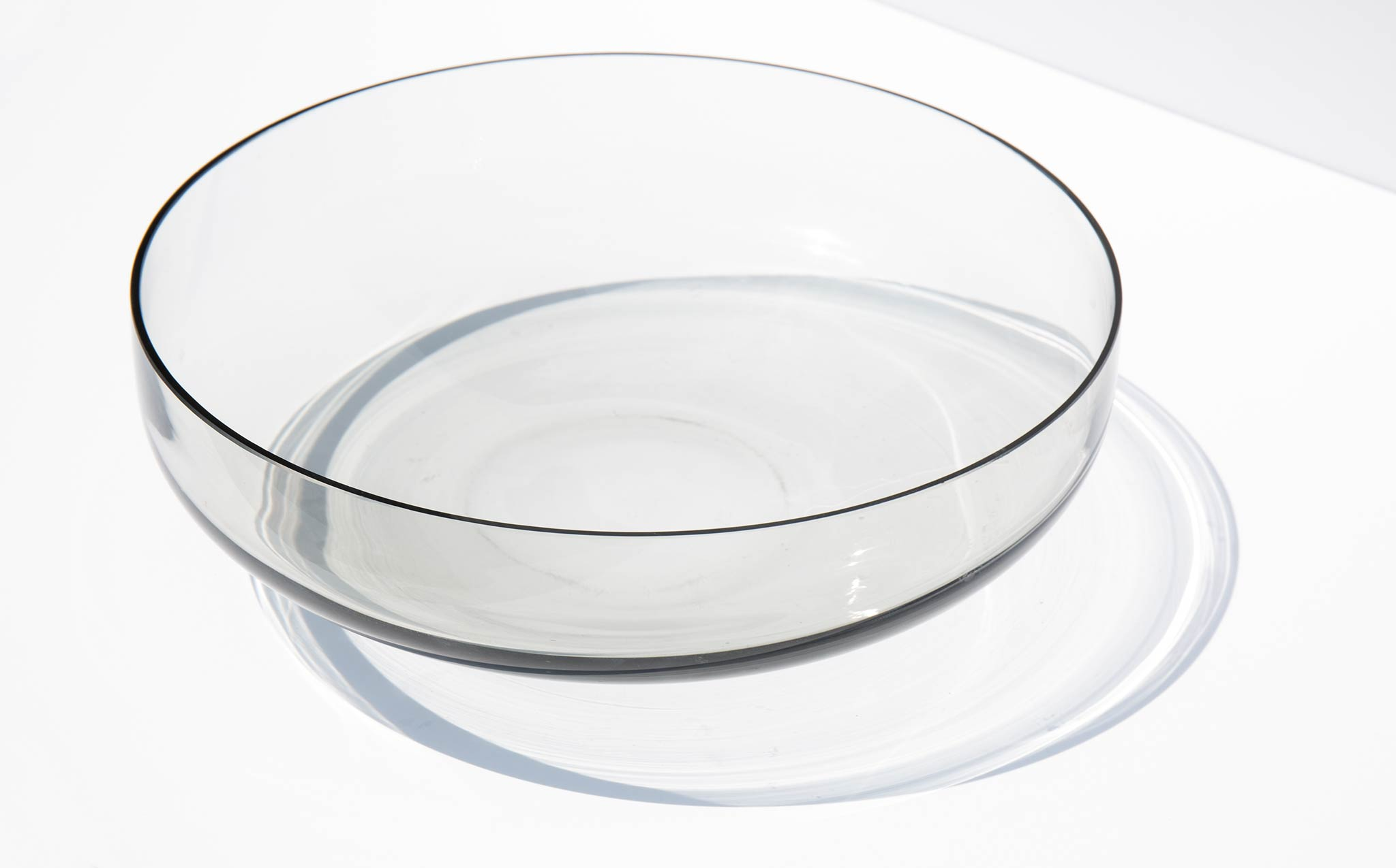 Smoke Glass Bowl