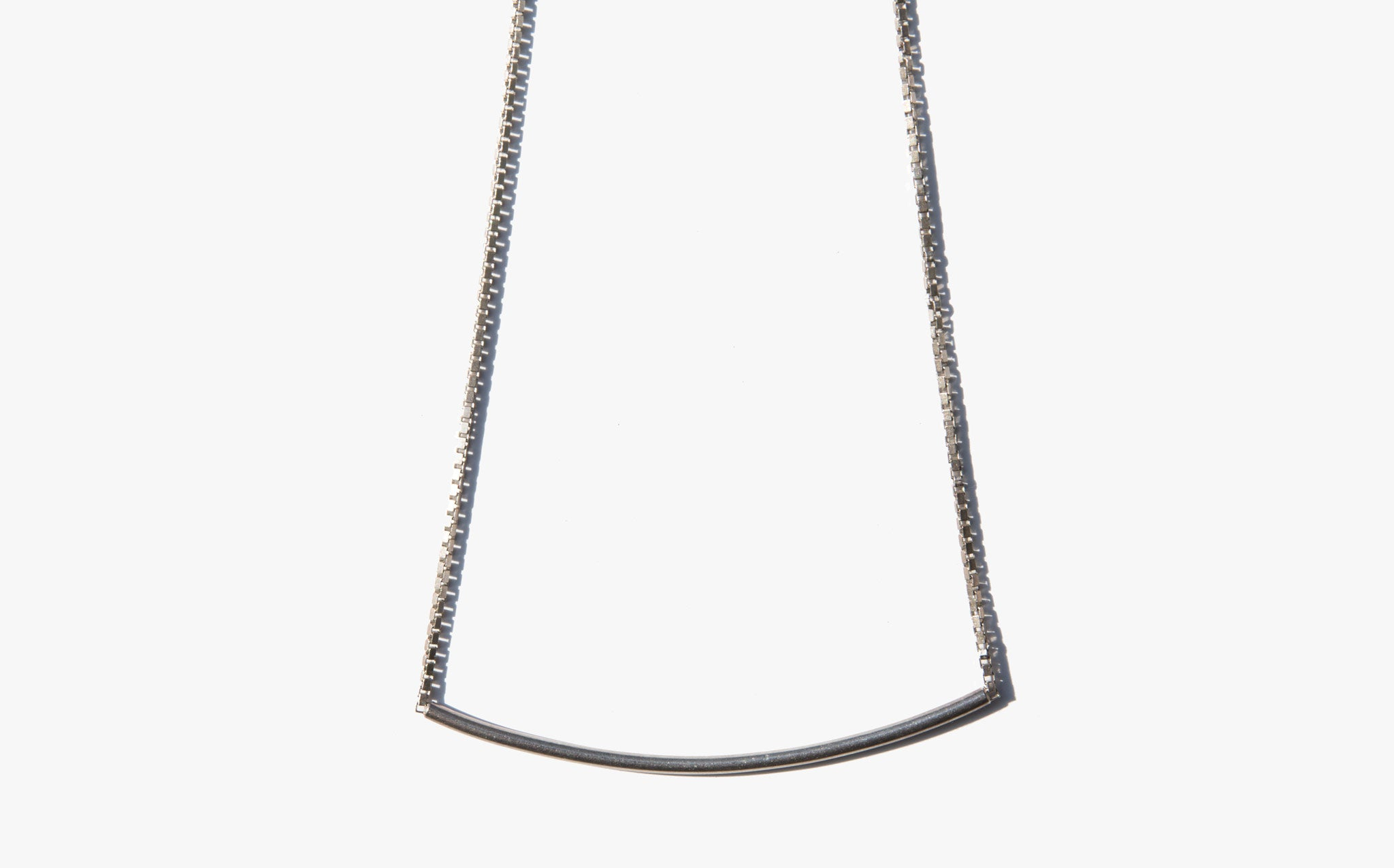 Sterling Bar Choker