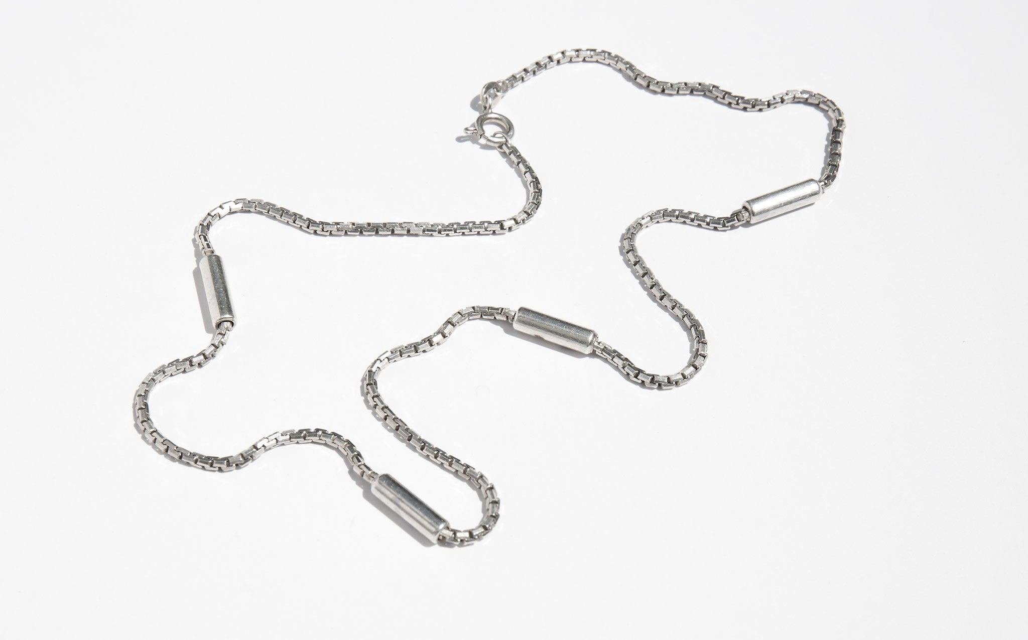 Sterling Cylinder Chain
