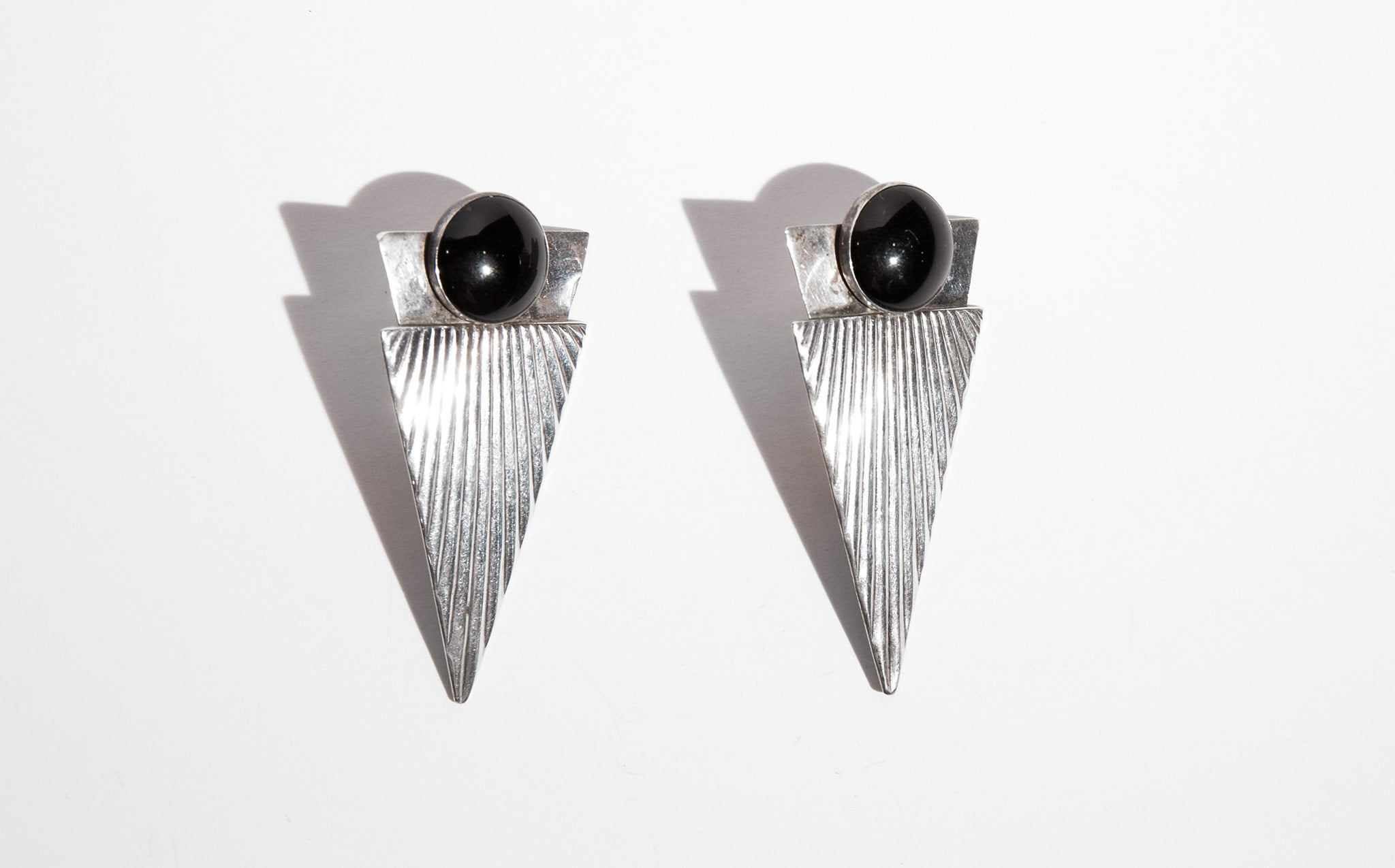 Sterling Night Earrings