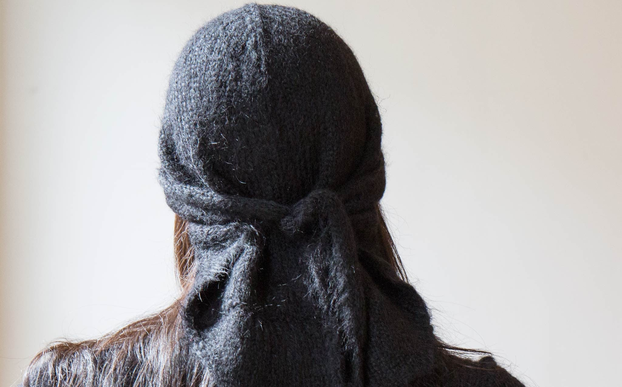 A Détacher Black Mini Head Wrap