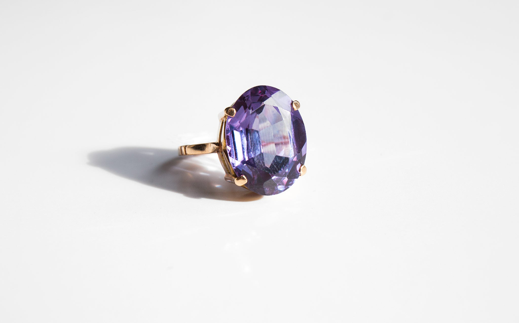 Alexandrite Cocktail Ring