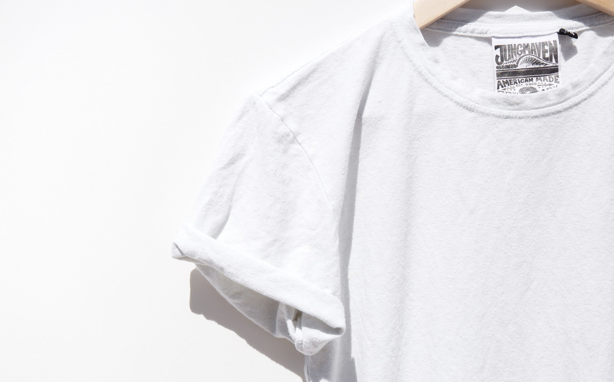 Jungmaven Optic White 5 Oz Tee