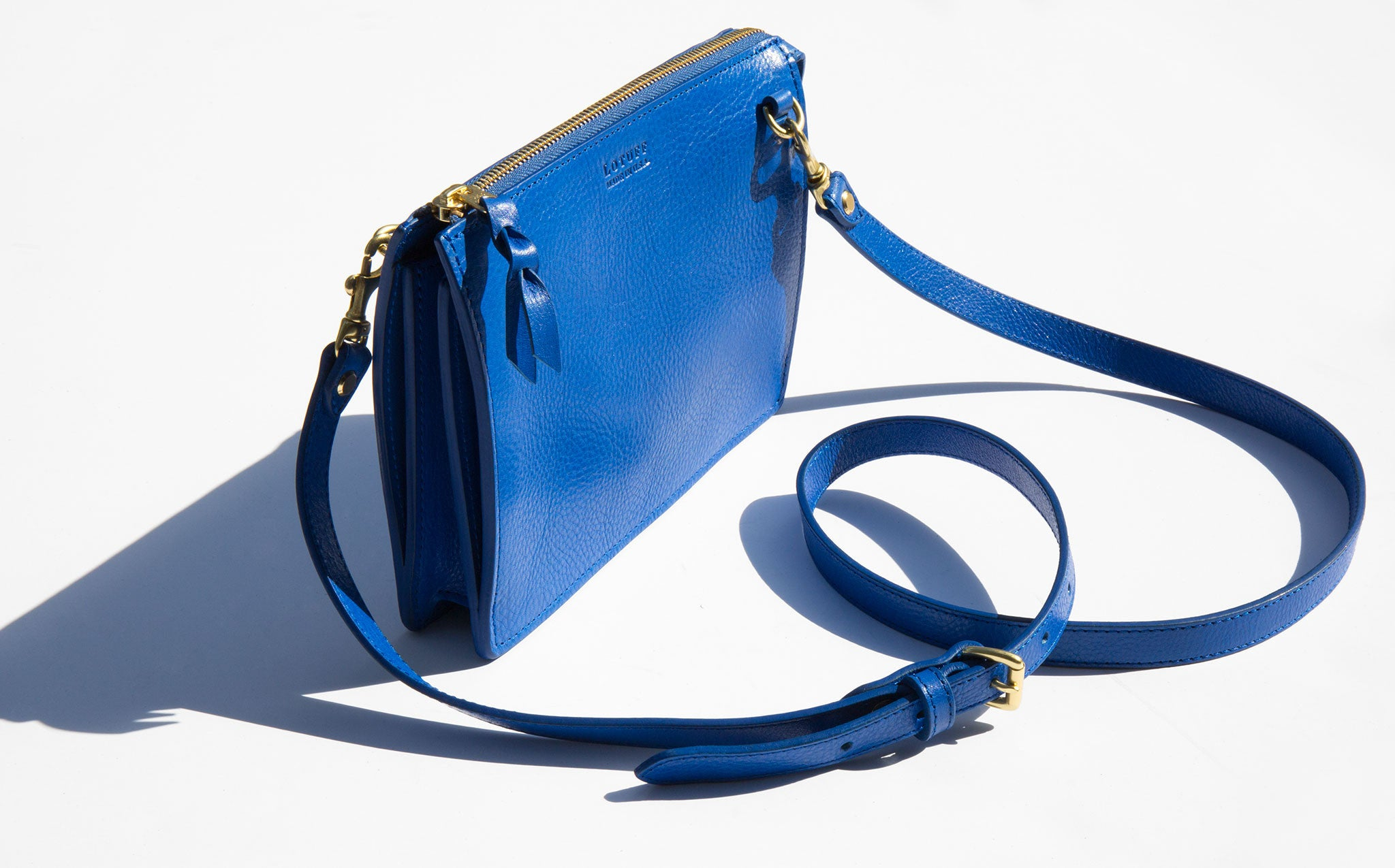 Lotuff Electric Blue Tripp Crossbody