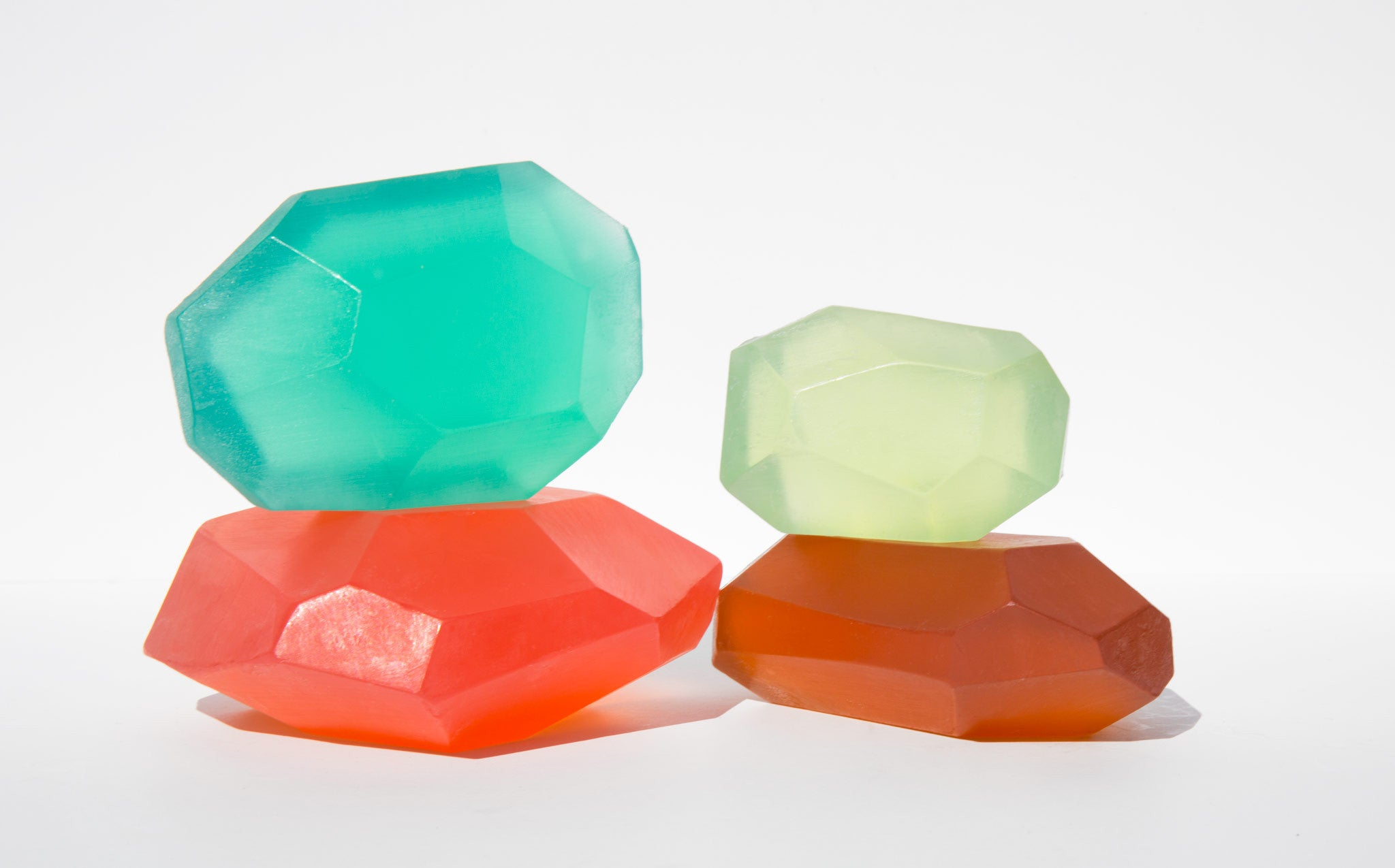 Soap Stones Red Green