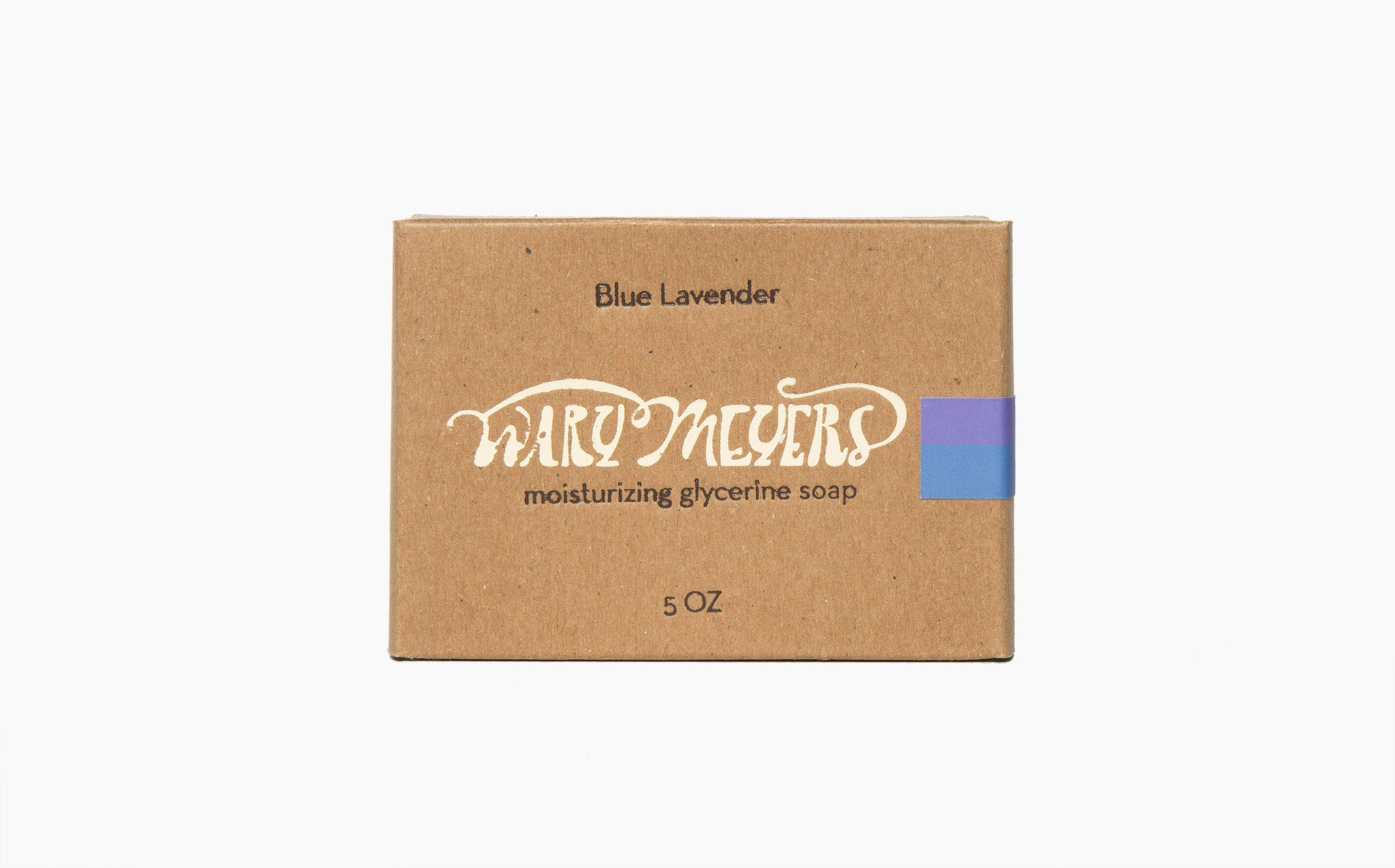 Wary Meyers Blue Lavender Soap