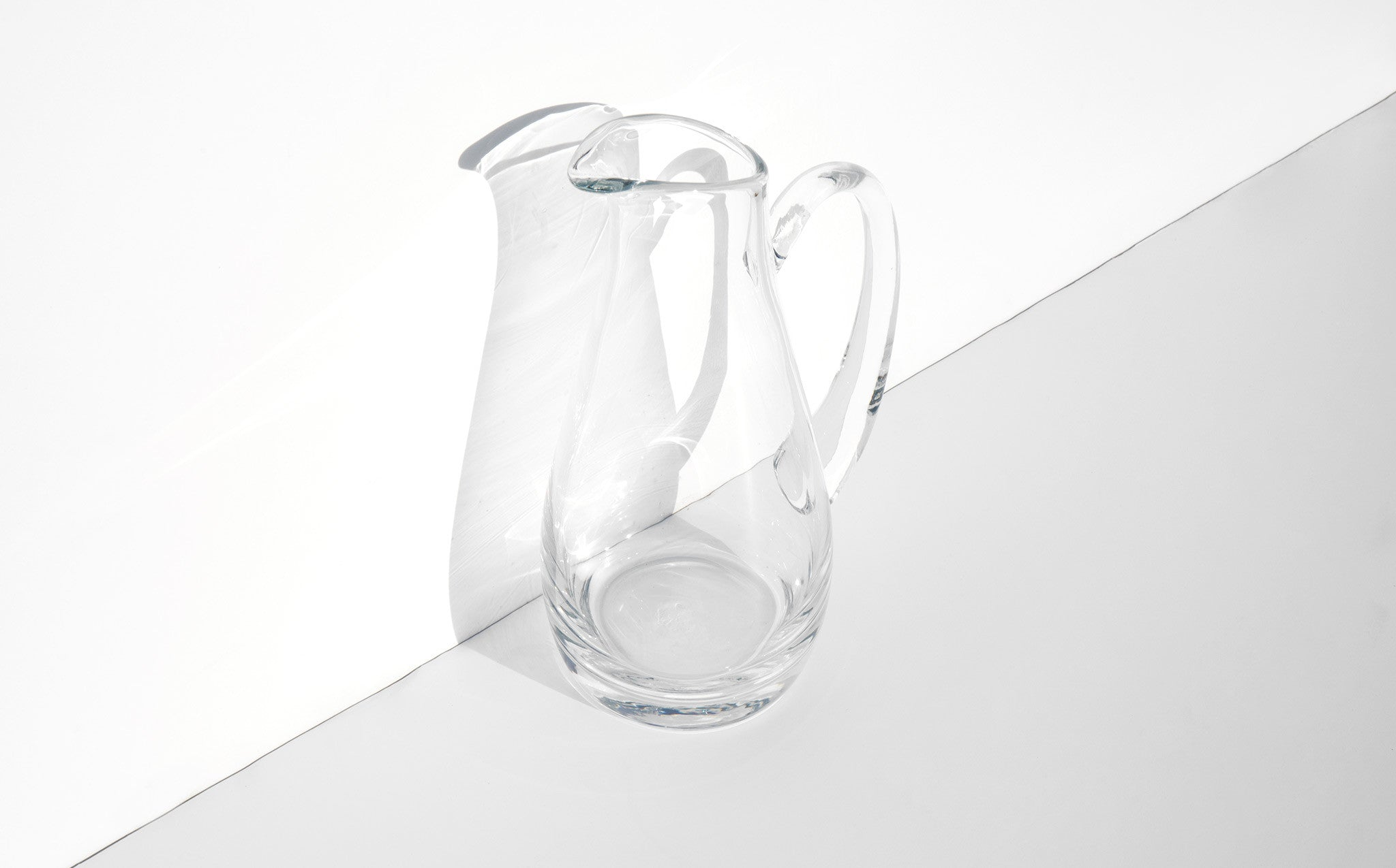 Tall Water Pitcher