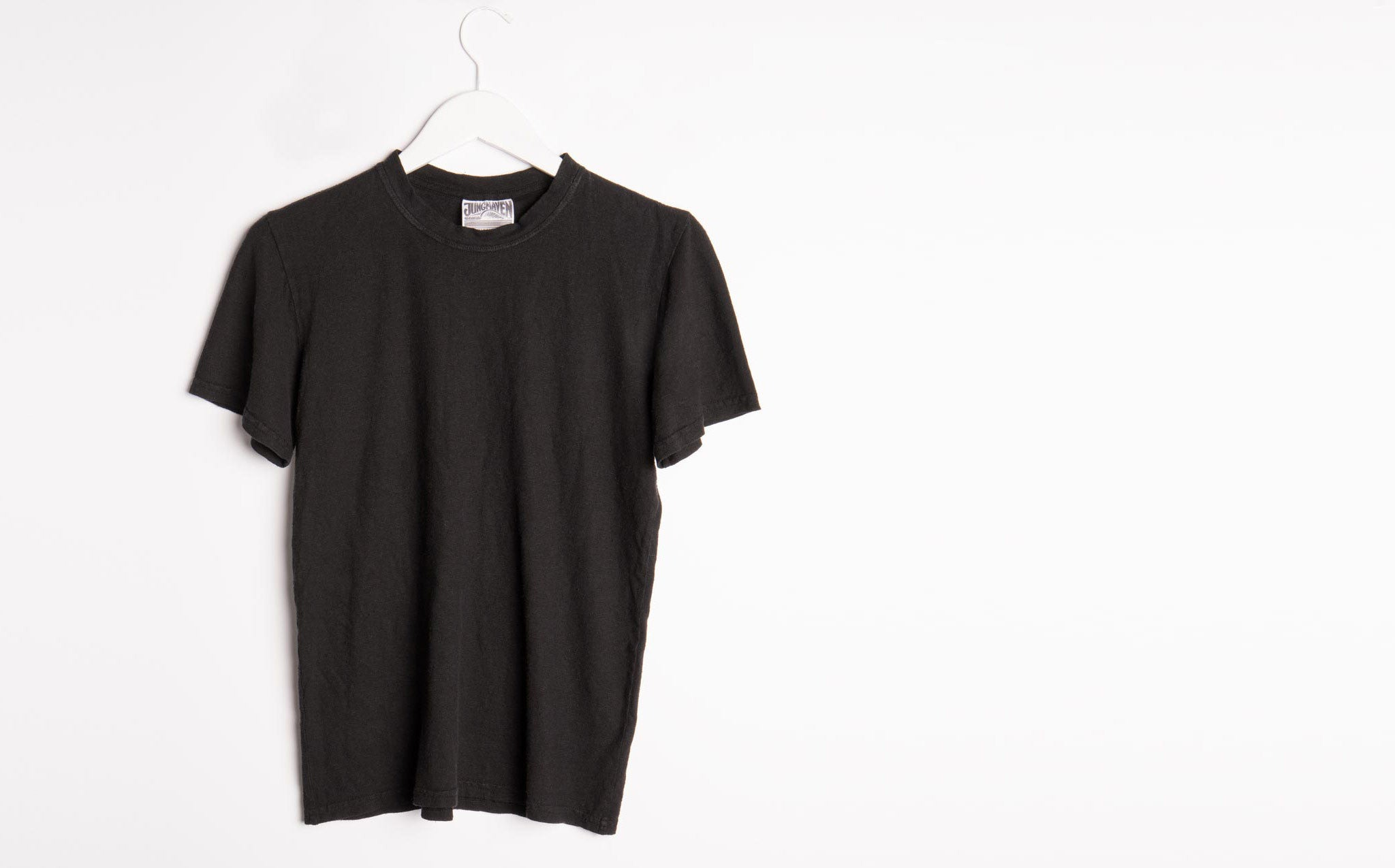 Jungmaven Black 7 Oz Baja Tee kindred black