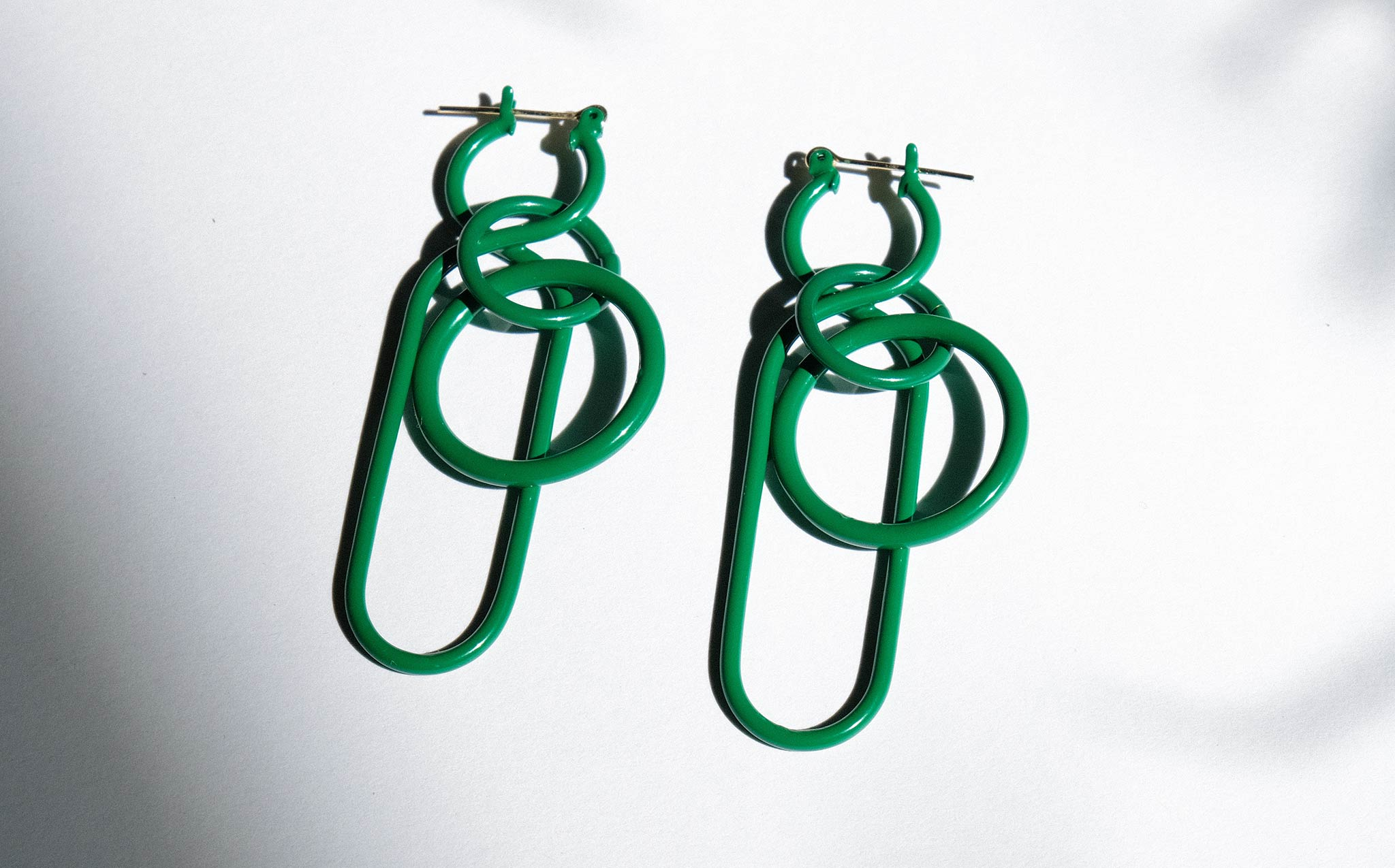 A Detacher Green Fern Earrings