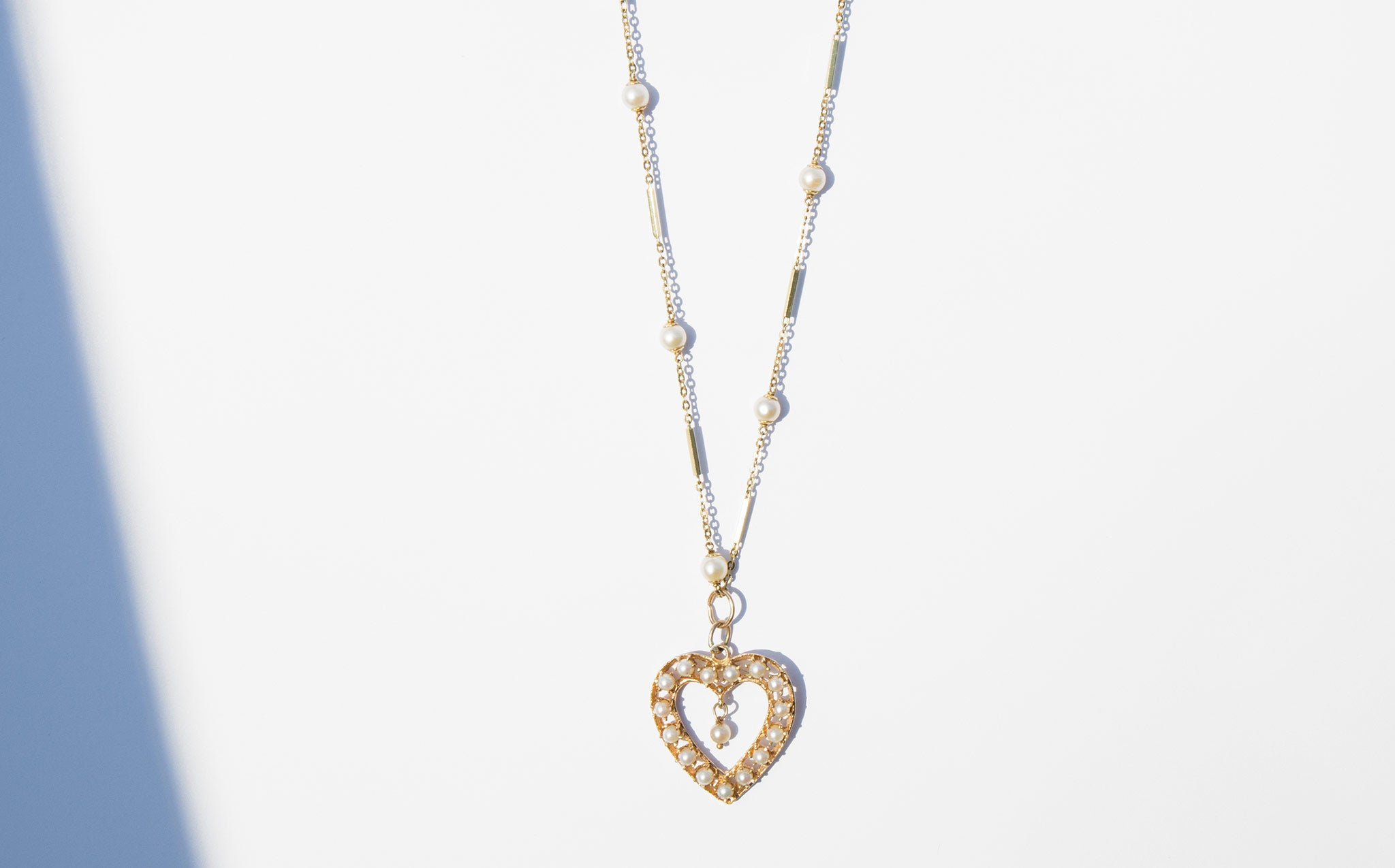 Bared Heart Necklace