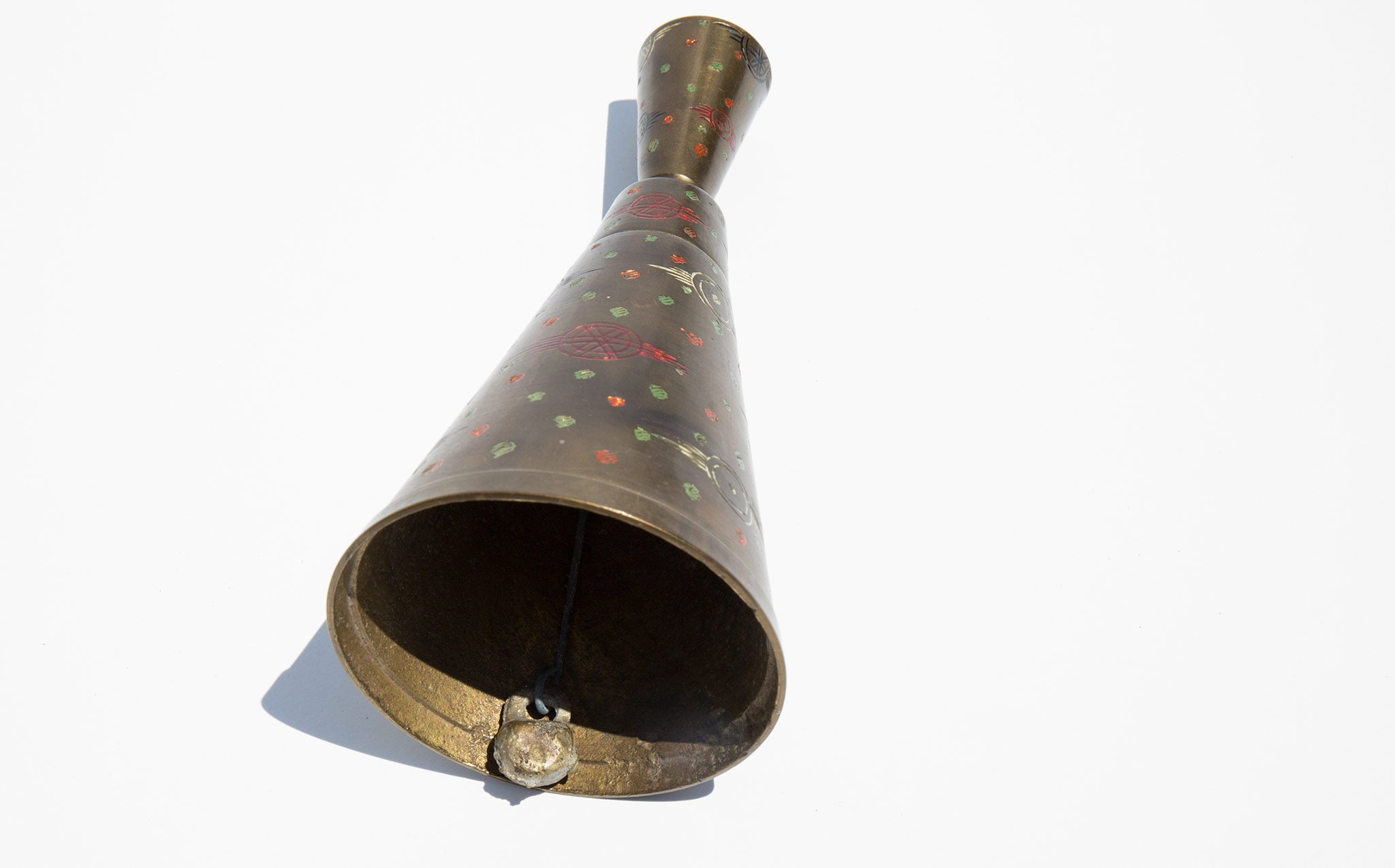 Primitive Candlestick Bell