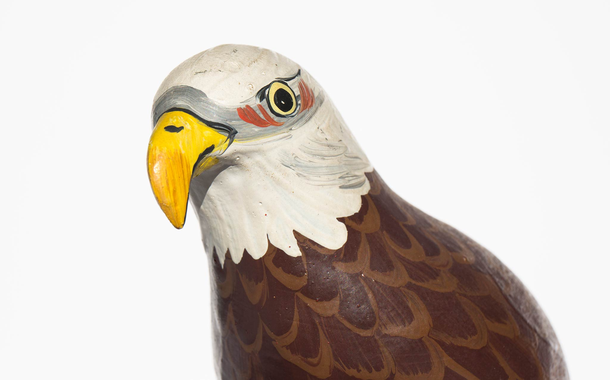 Carved and Hand Painted Eagle