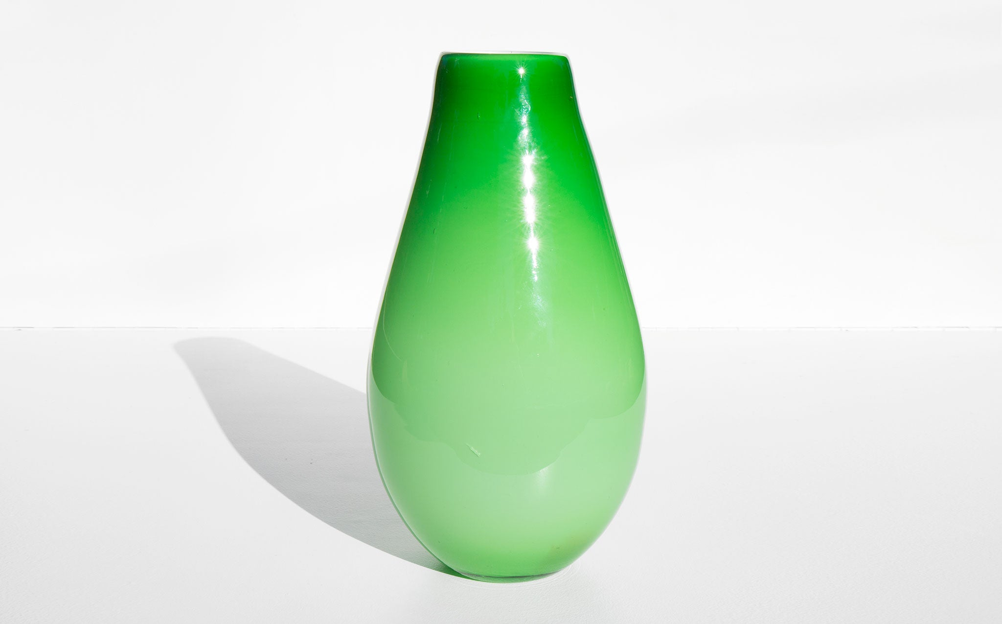 Lime Statement Vase