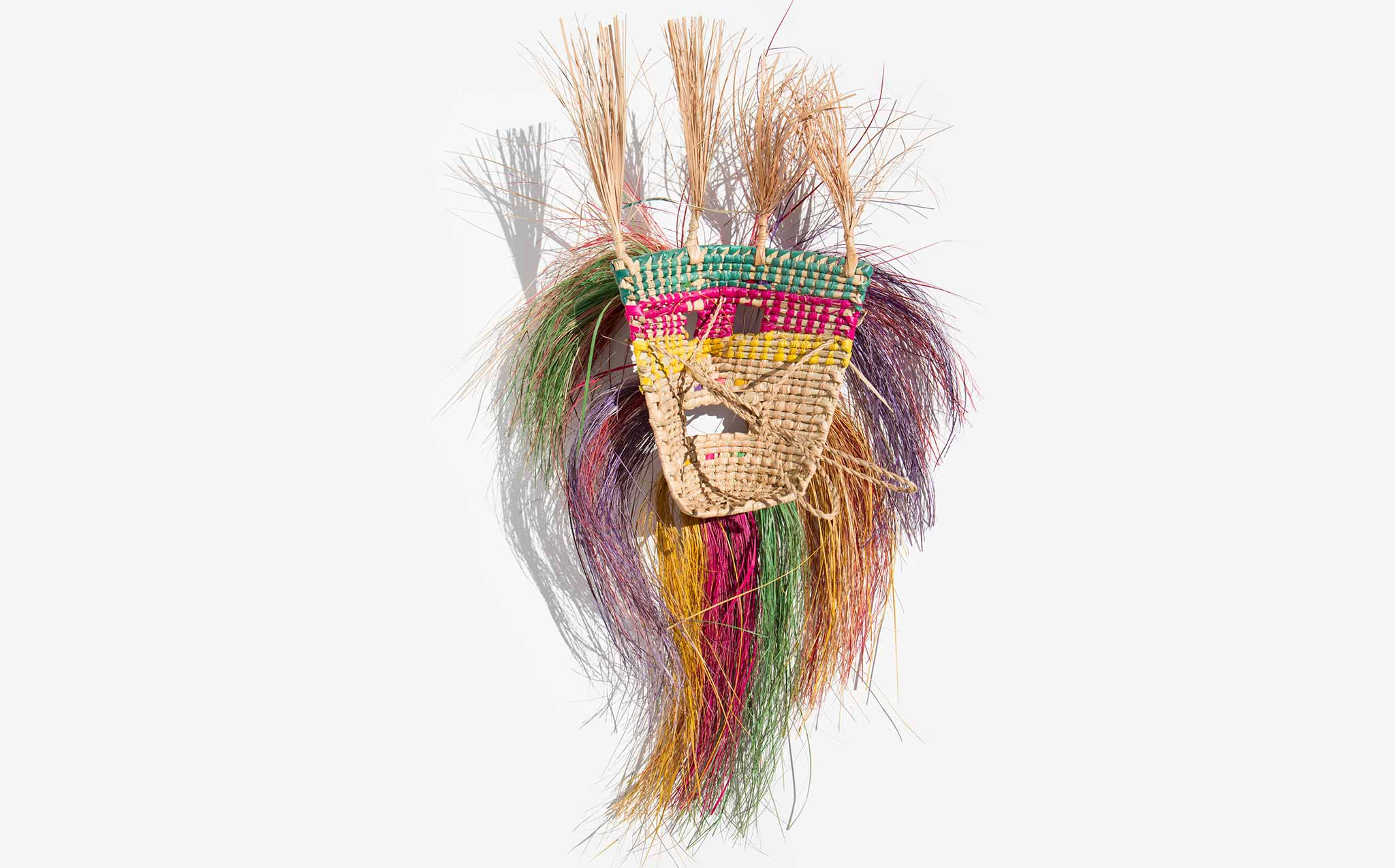 Mexican Straw Mask