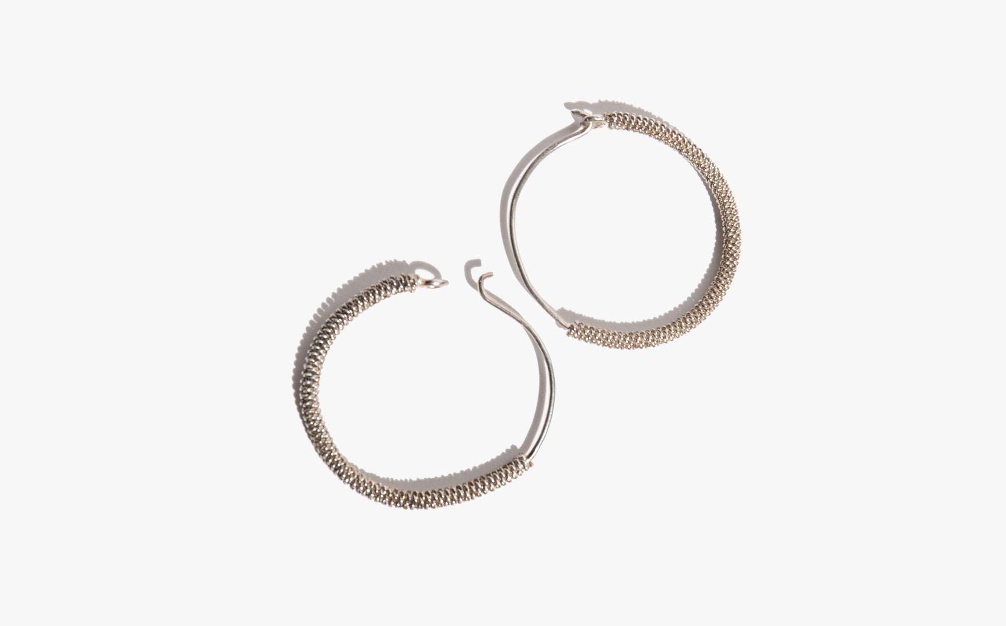 Mesh Wrap Earrings