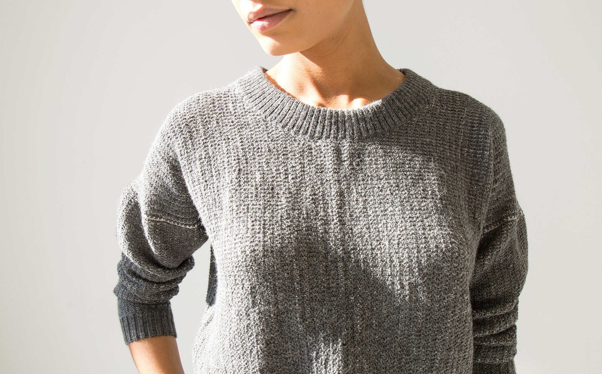 Appalatch Cropped Alpaca Sweater