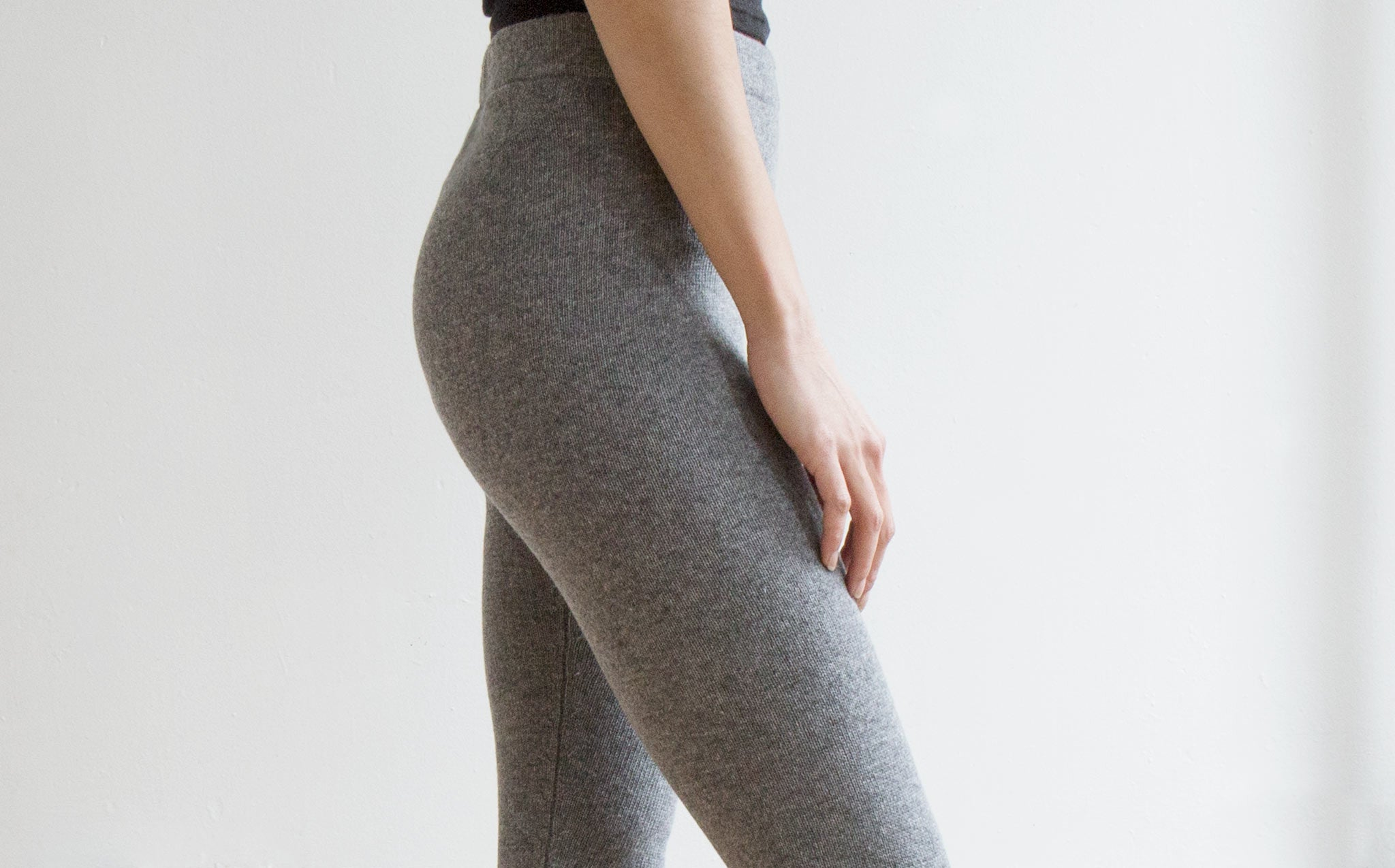 Colorant Cashmere Leggings kindred black