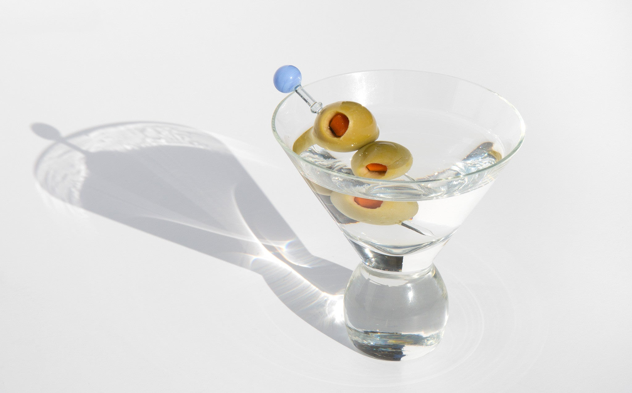 Mid Century Martini Glasses