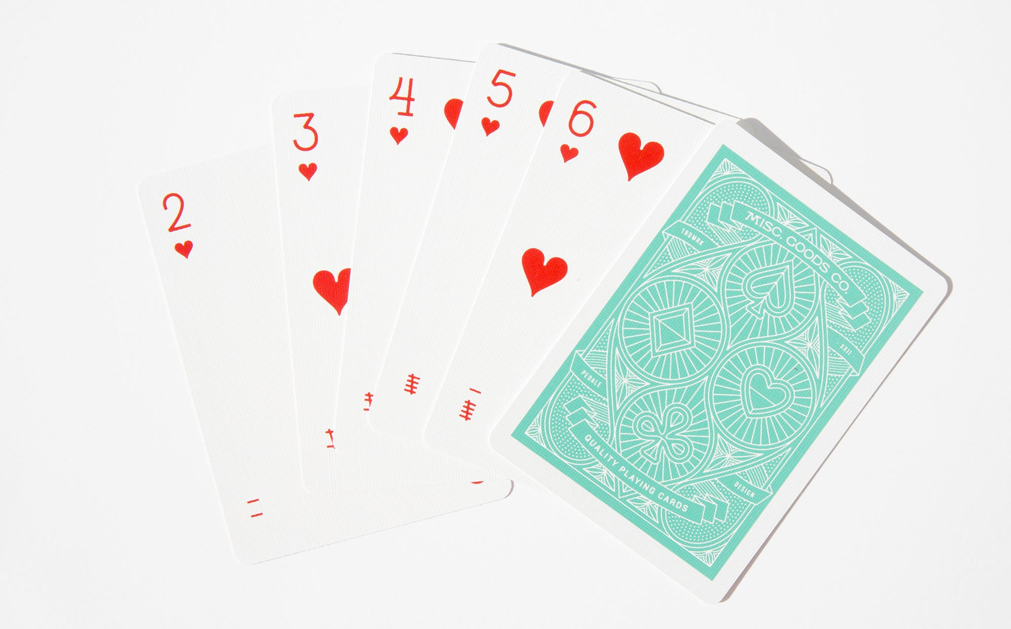 Misc Goods Co Playing Cards - Green