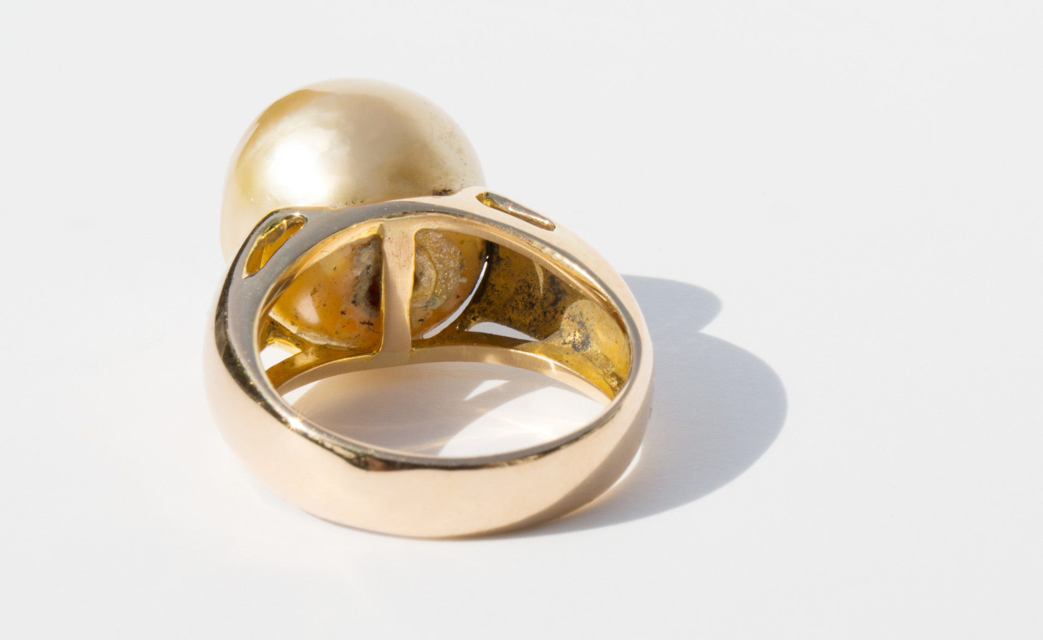 18k Tahitian South Sea Pearl Ring