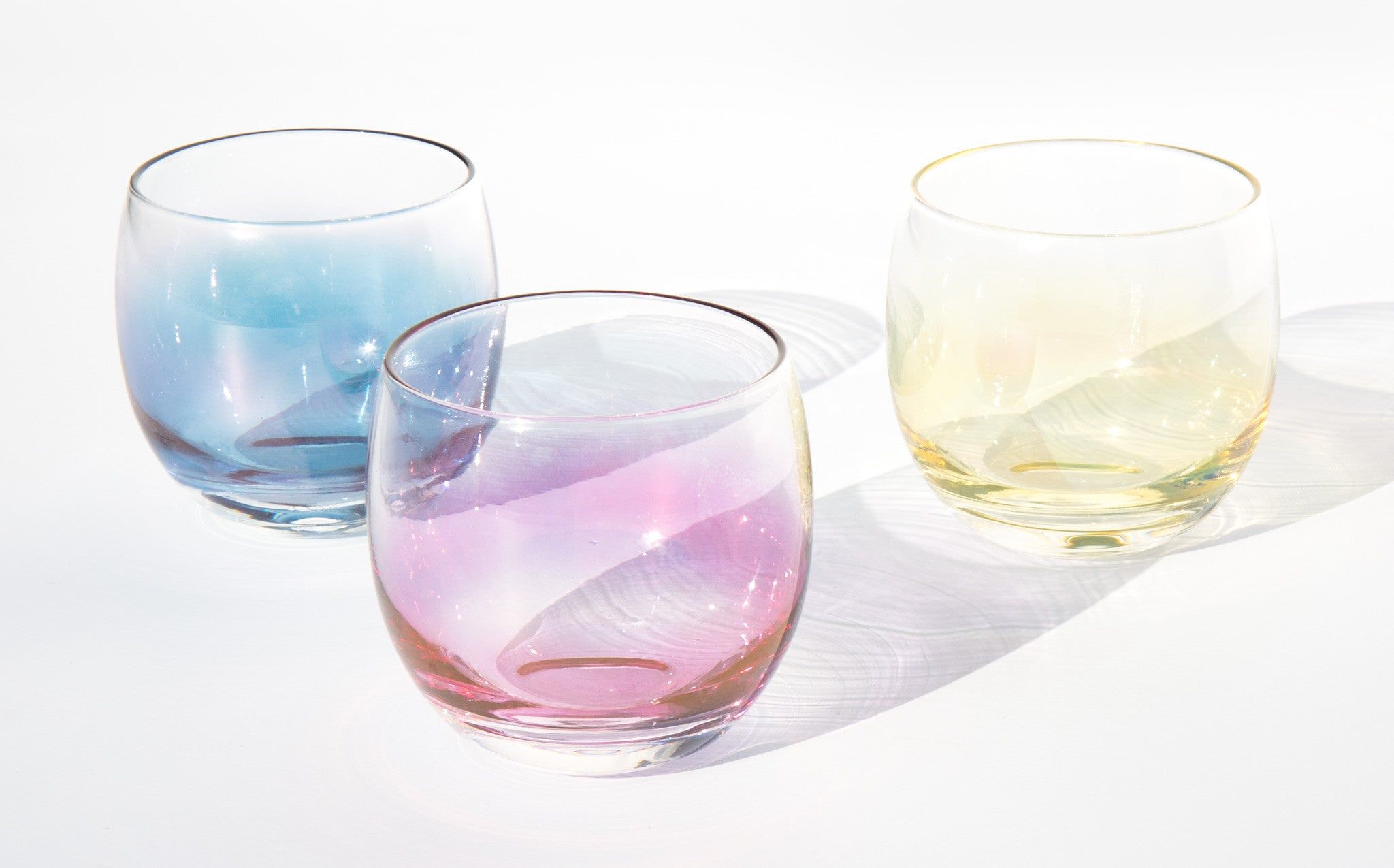 RYB Roly Poly Cocktail Glasses