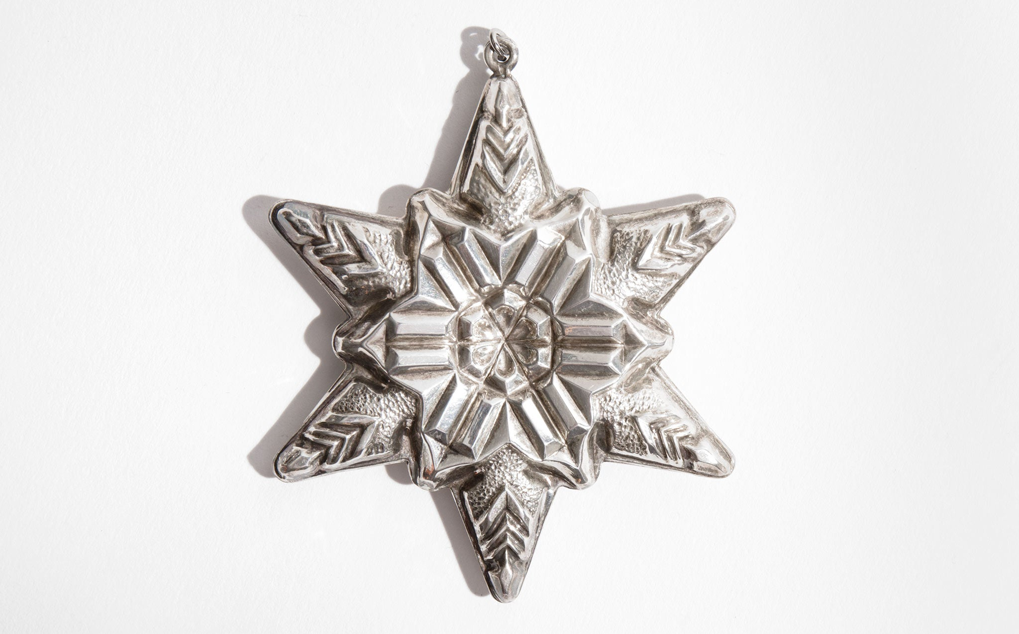 Sterling Silver Snowflake