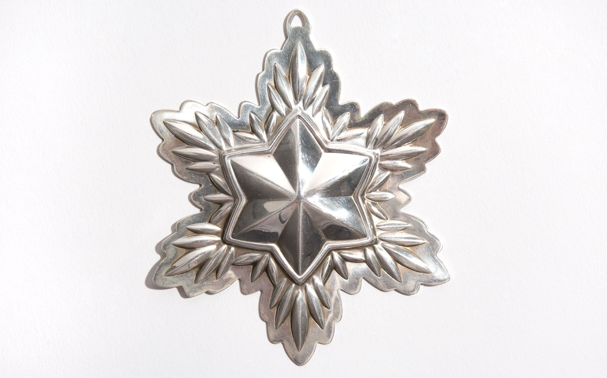 Reed and Barton Sterling Silver Snowflake