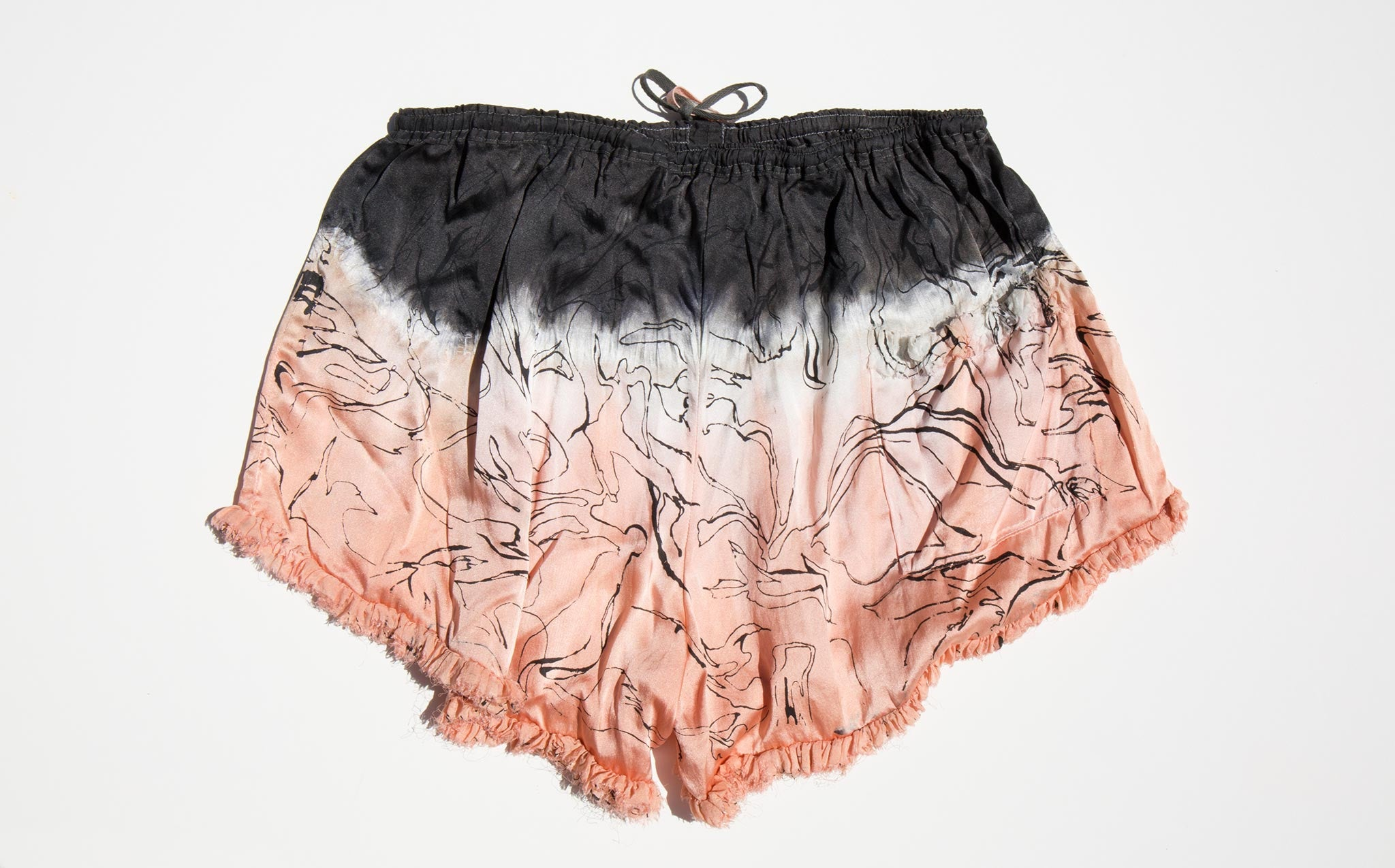 Vivien Ramsay Silk Lounge Shorts