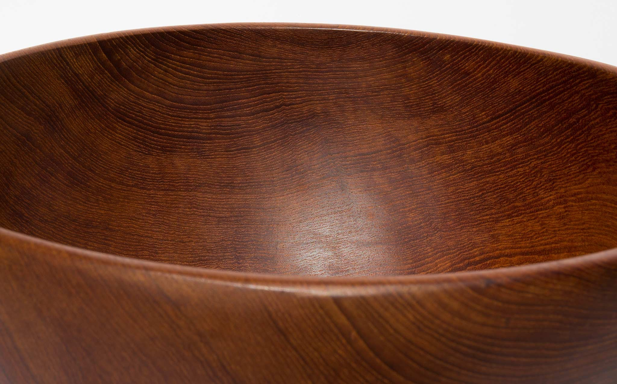Oversized Solid Teak Bowl