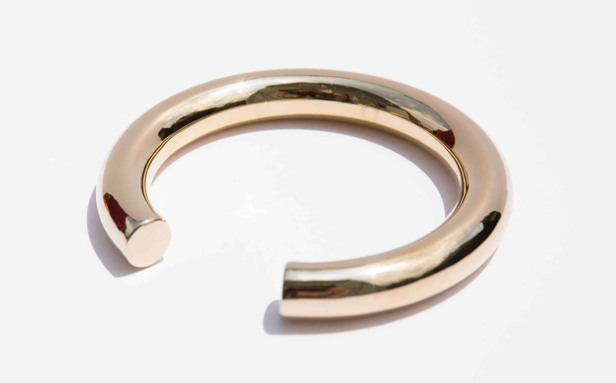 Saskia Diez Gold Bold Bangle