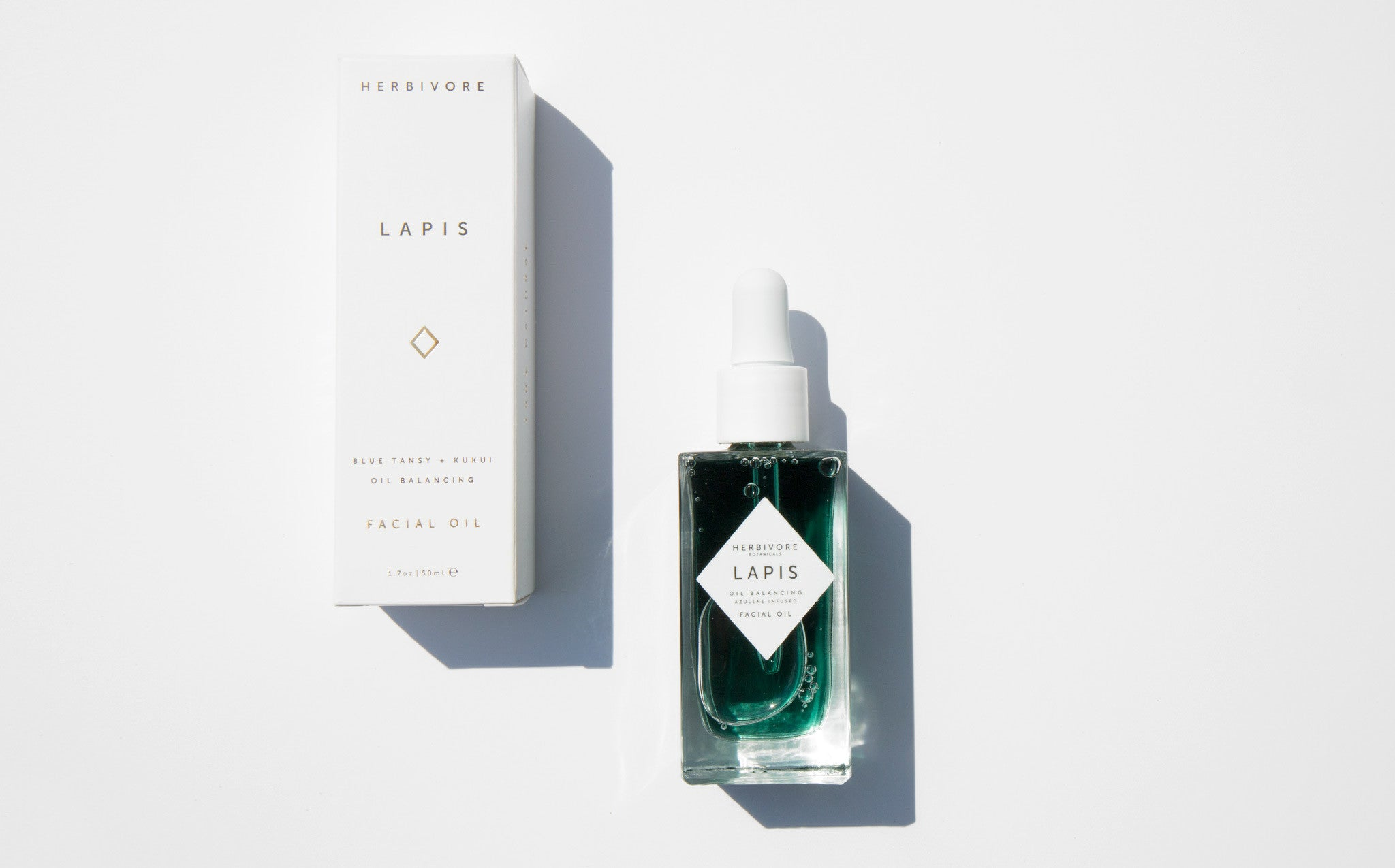 Herbivore Botanicals Lapis Facial Oil kindred black