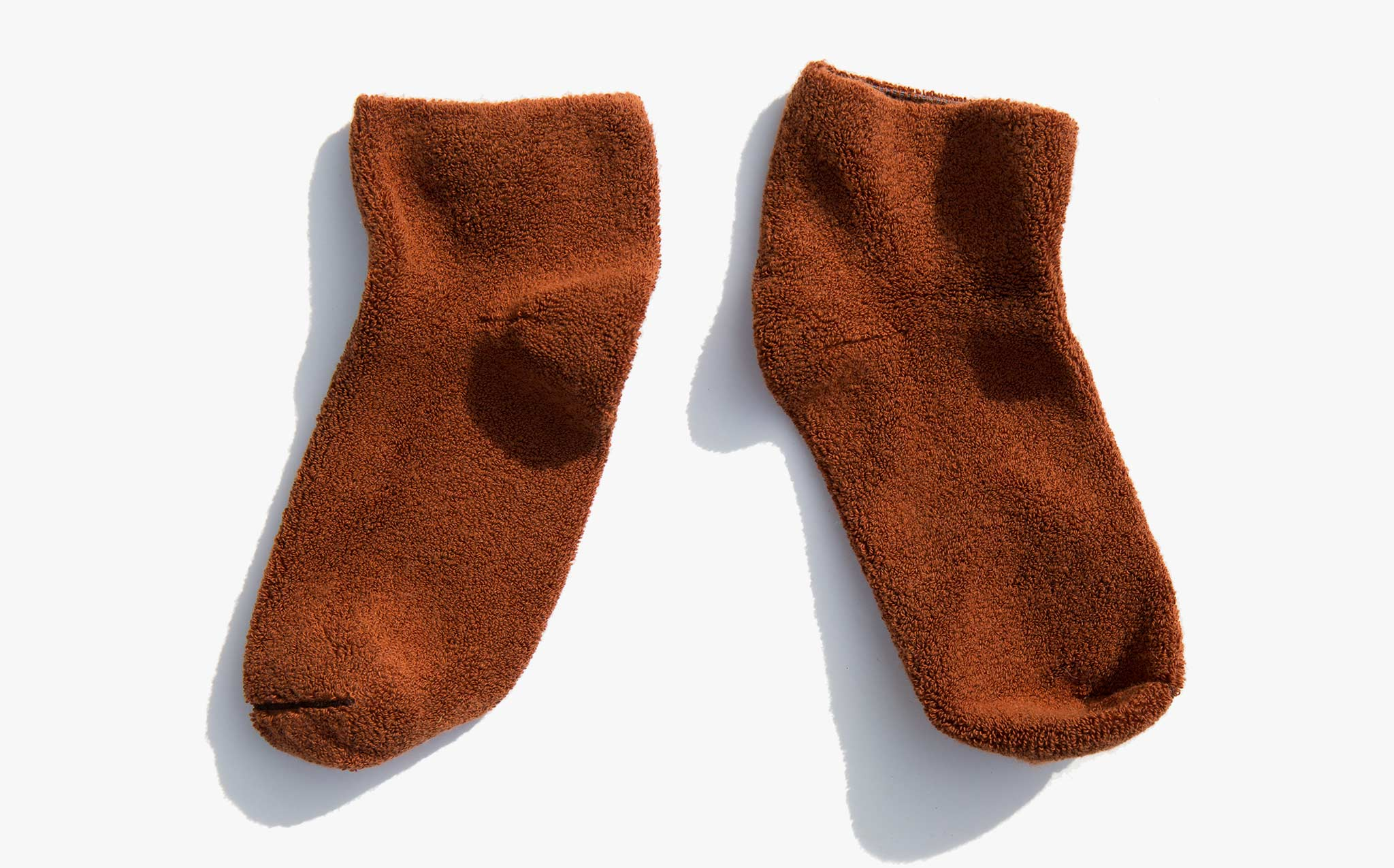 Baserange Tove Brown Buckle Ankle Socks