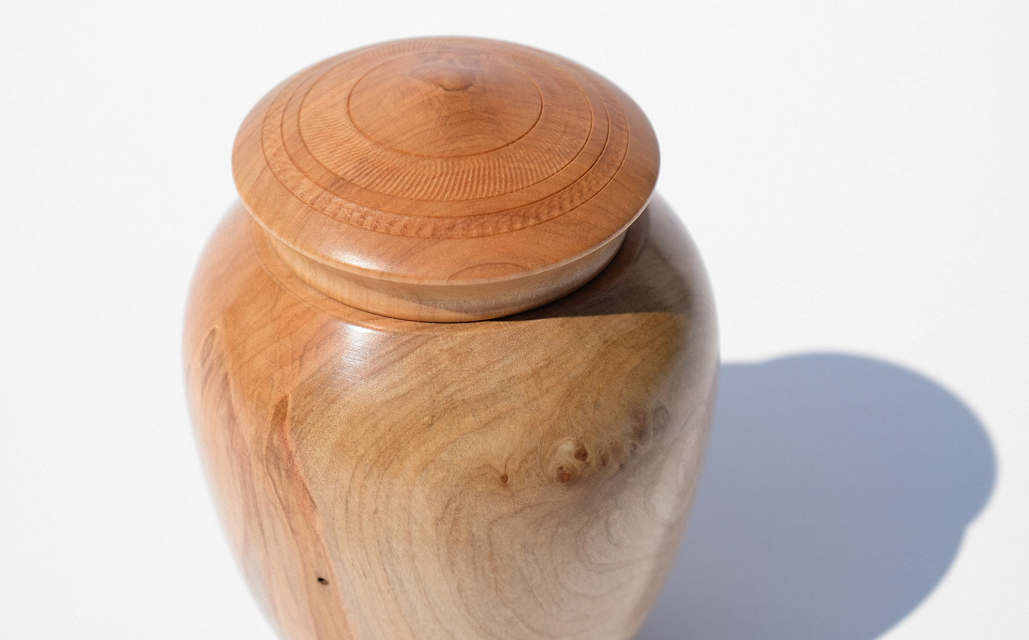 Bruce Perlmutter Hand Lathed Maple Vessel